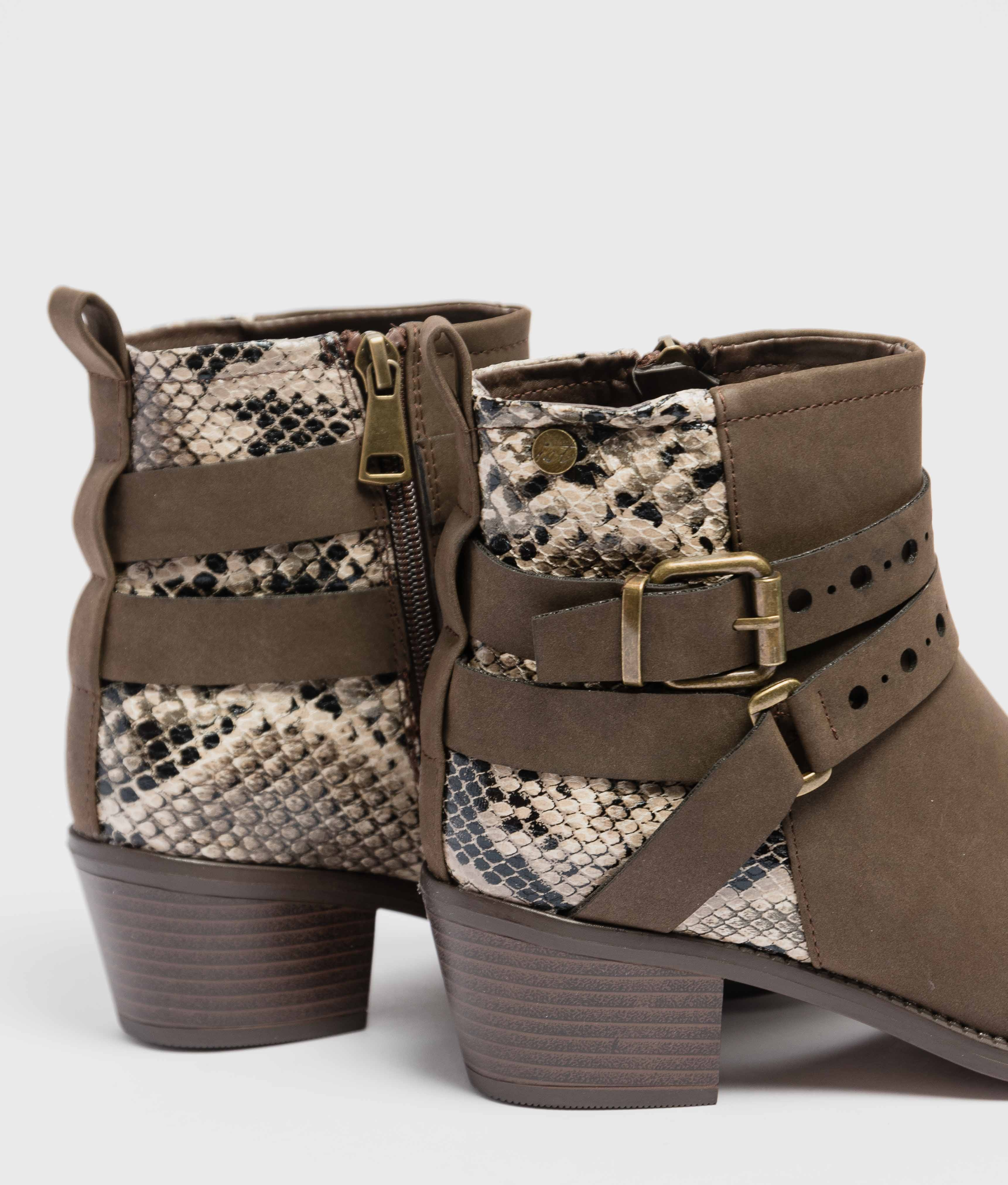Low Boot Fenia - Brown