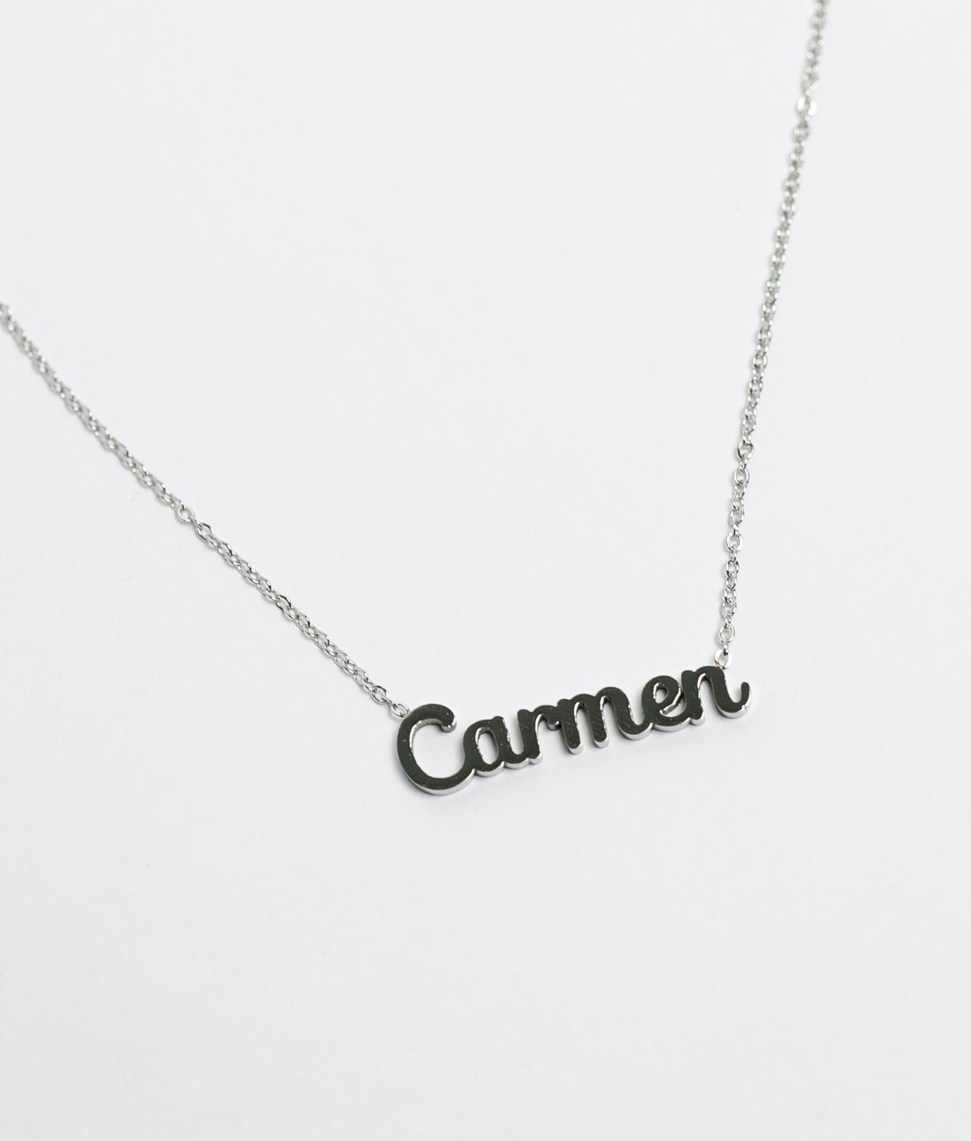 Colgante Carmen - Plata