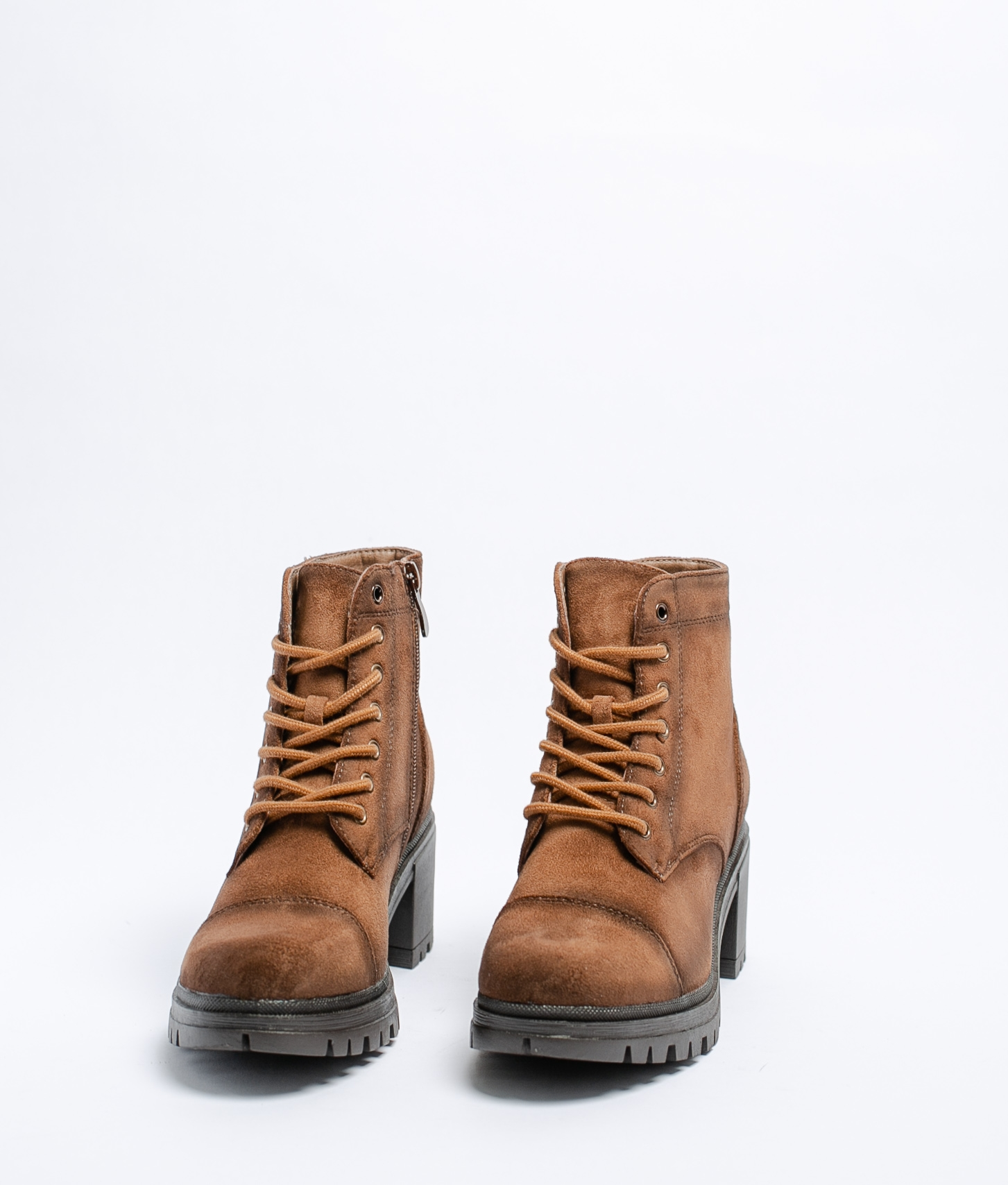 Low Boot Amica - Khaki Suede