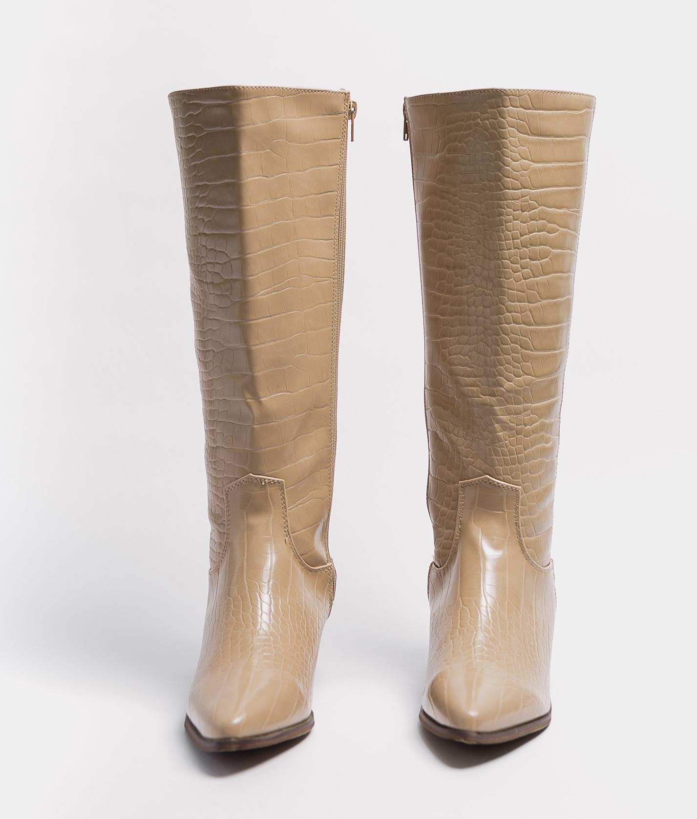 Knee-Lenght Boot Alira - Beige