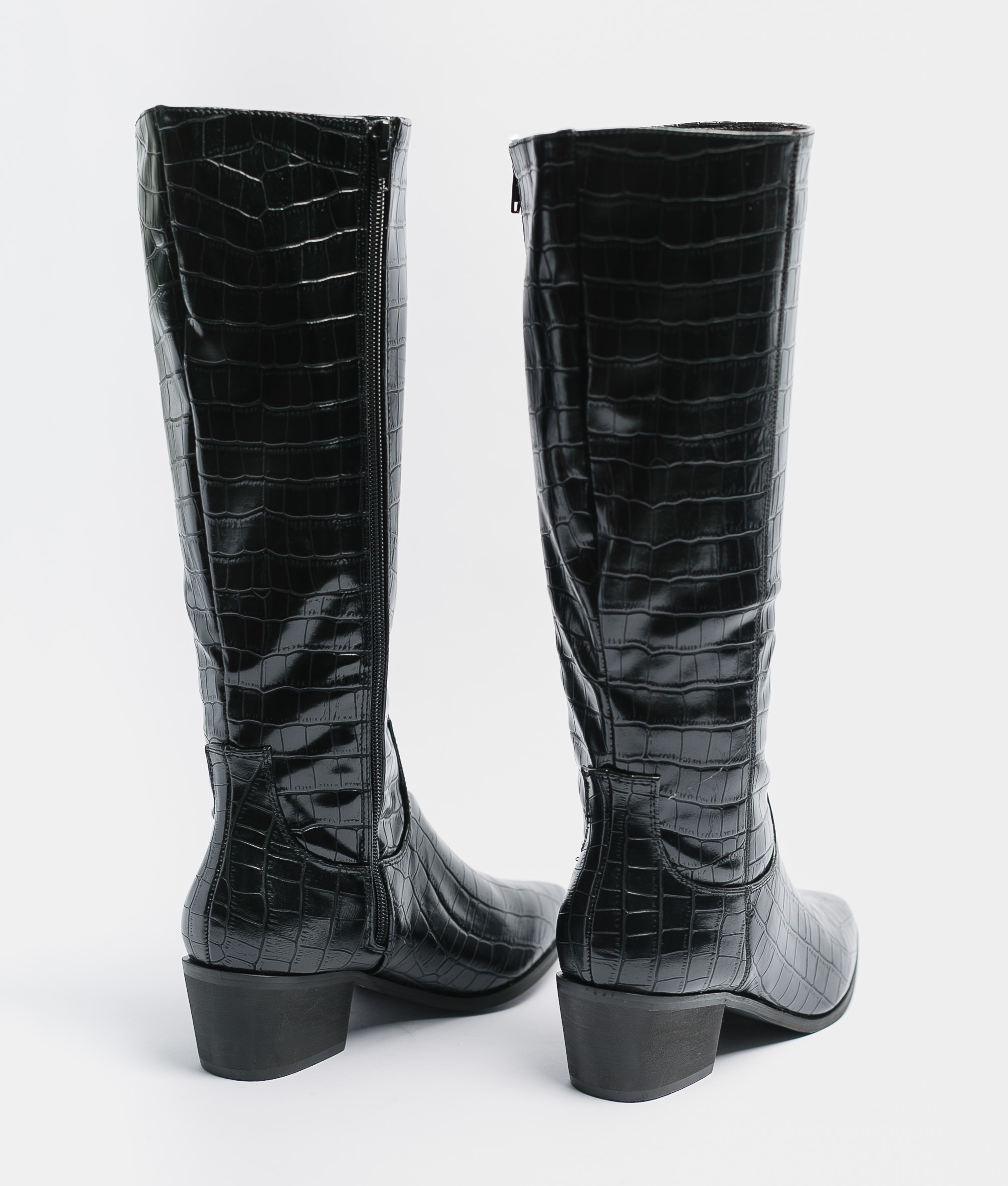 Knee-Lenght Boot Alira - Black