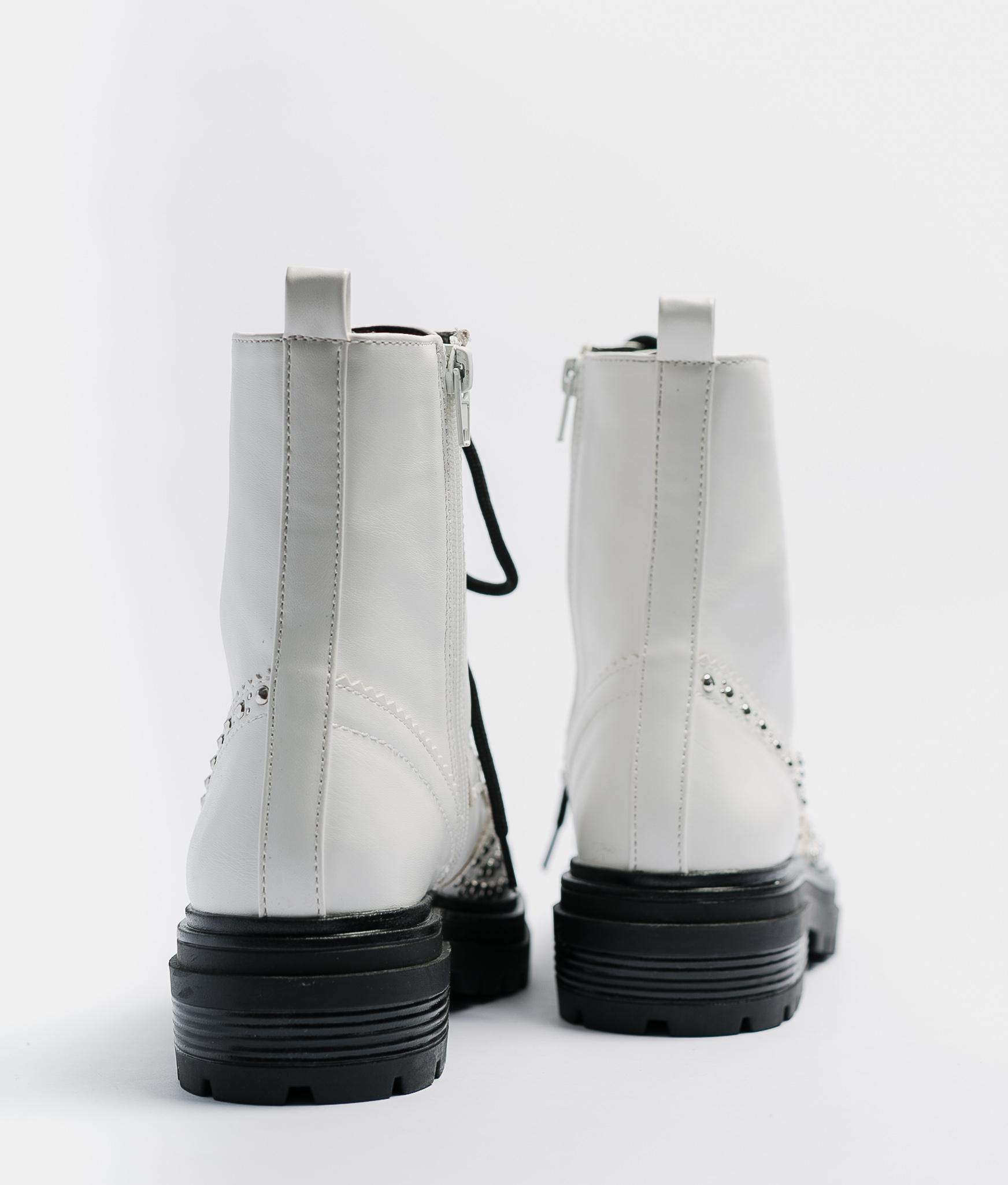 Boot Petite MENOE - BLANC