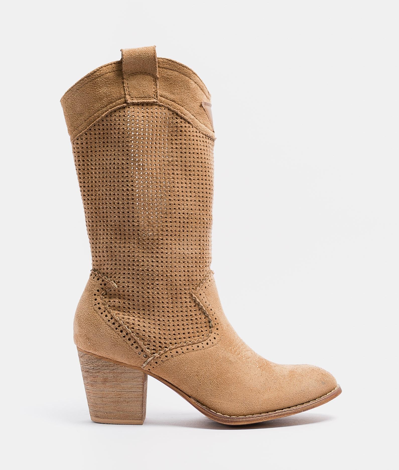 Knee-length Boot Ponet - Brown