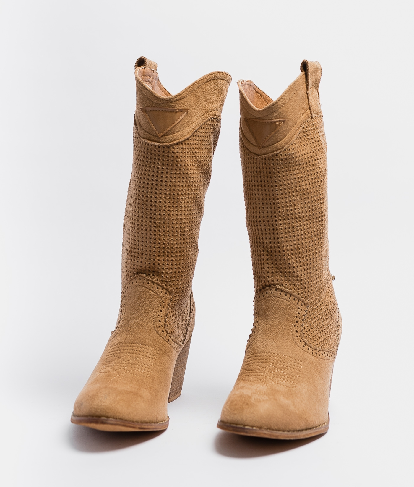 Knee-length Boot Ponet - Brown