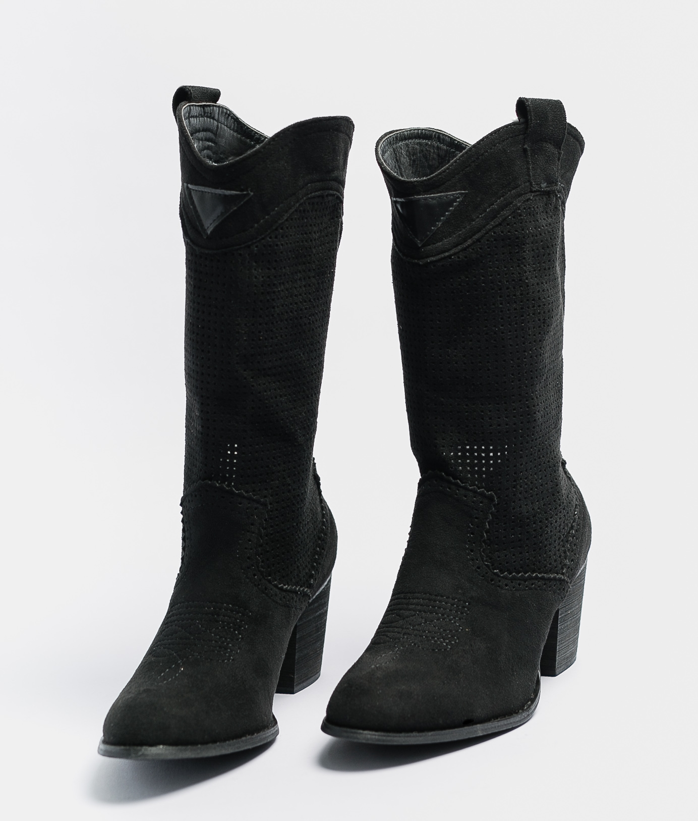 Knee-length Boot Ponet - Black