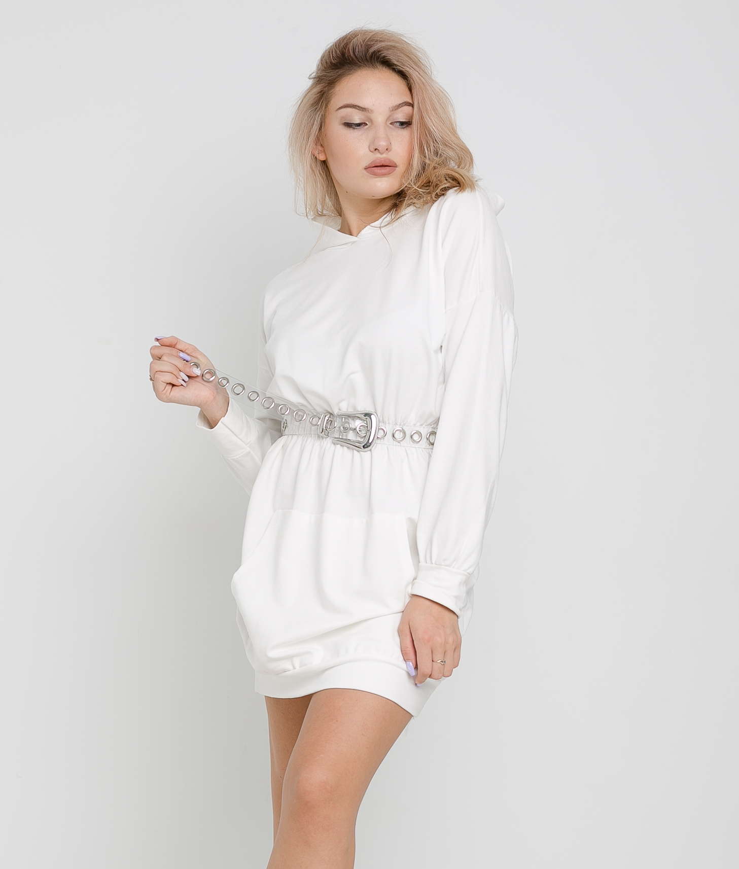 DARILA DRESS - WHITE