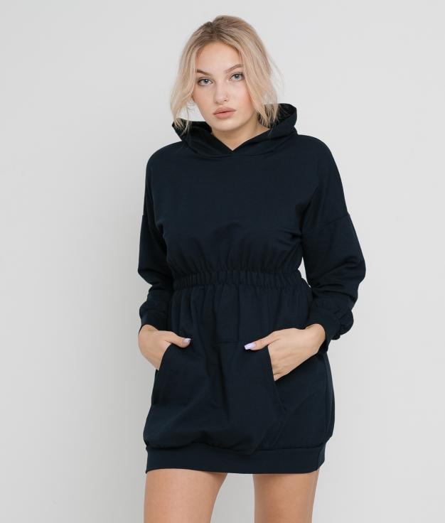 DARILA DRESS - DARK BLUE