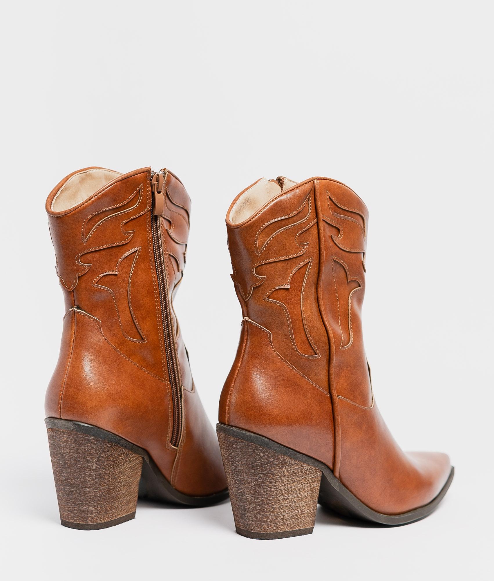 Low Boot Eliet - Camel