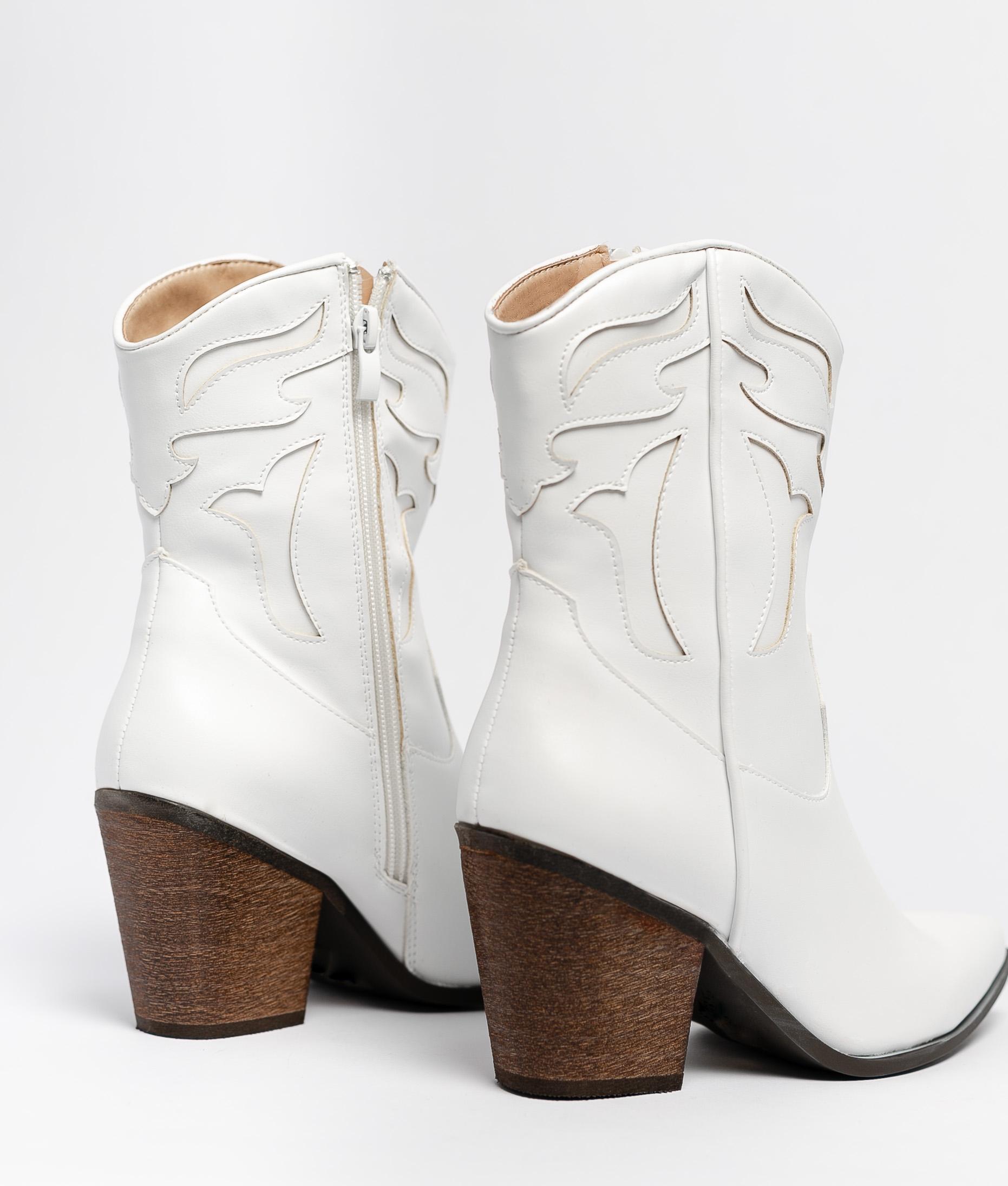 Low Boot Eliet - White