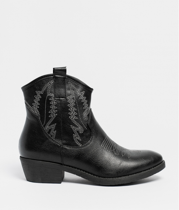 Low Boot Carleta - Black