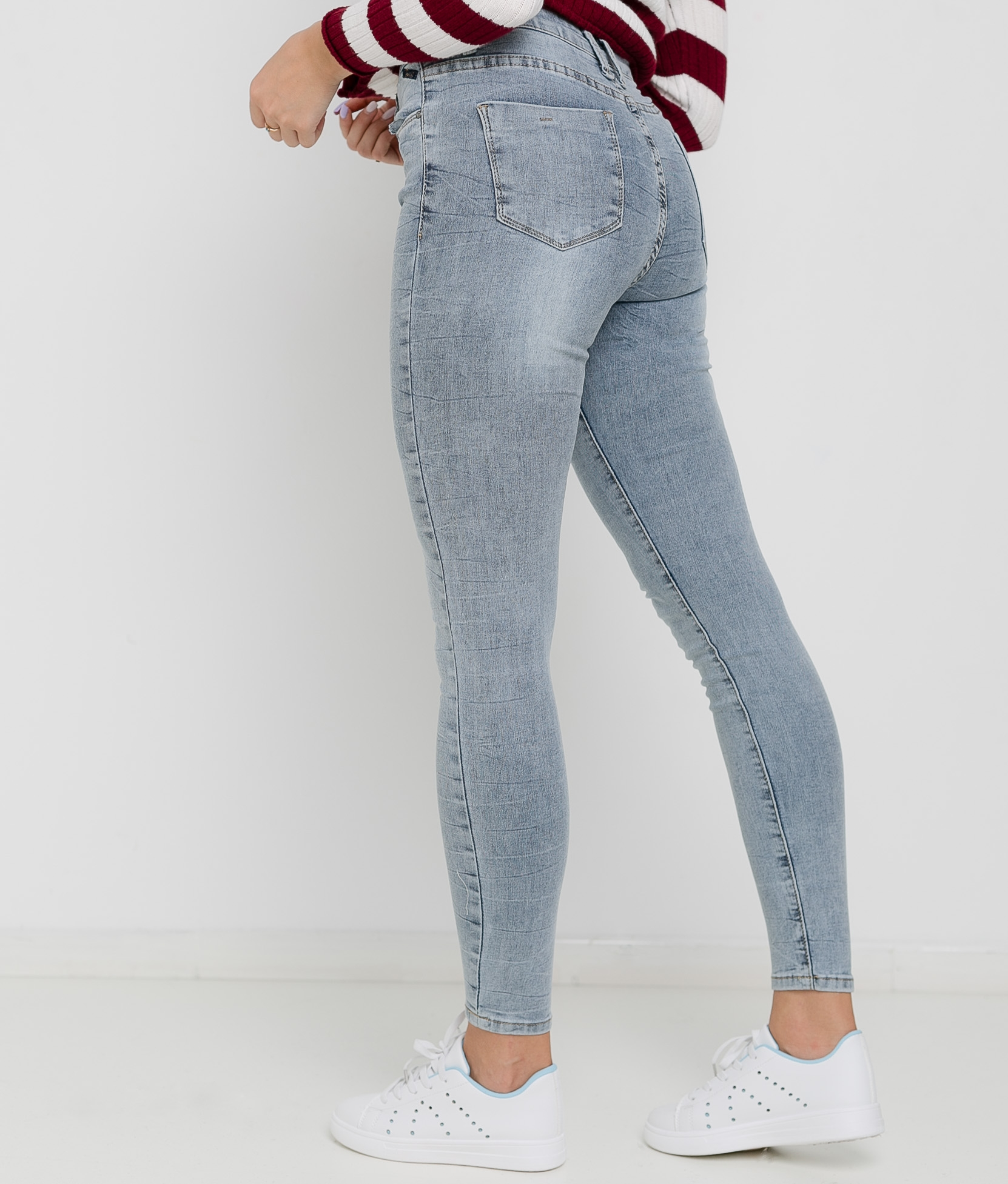 PANTALON MENBUR - DENIM GRIS
