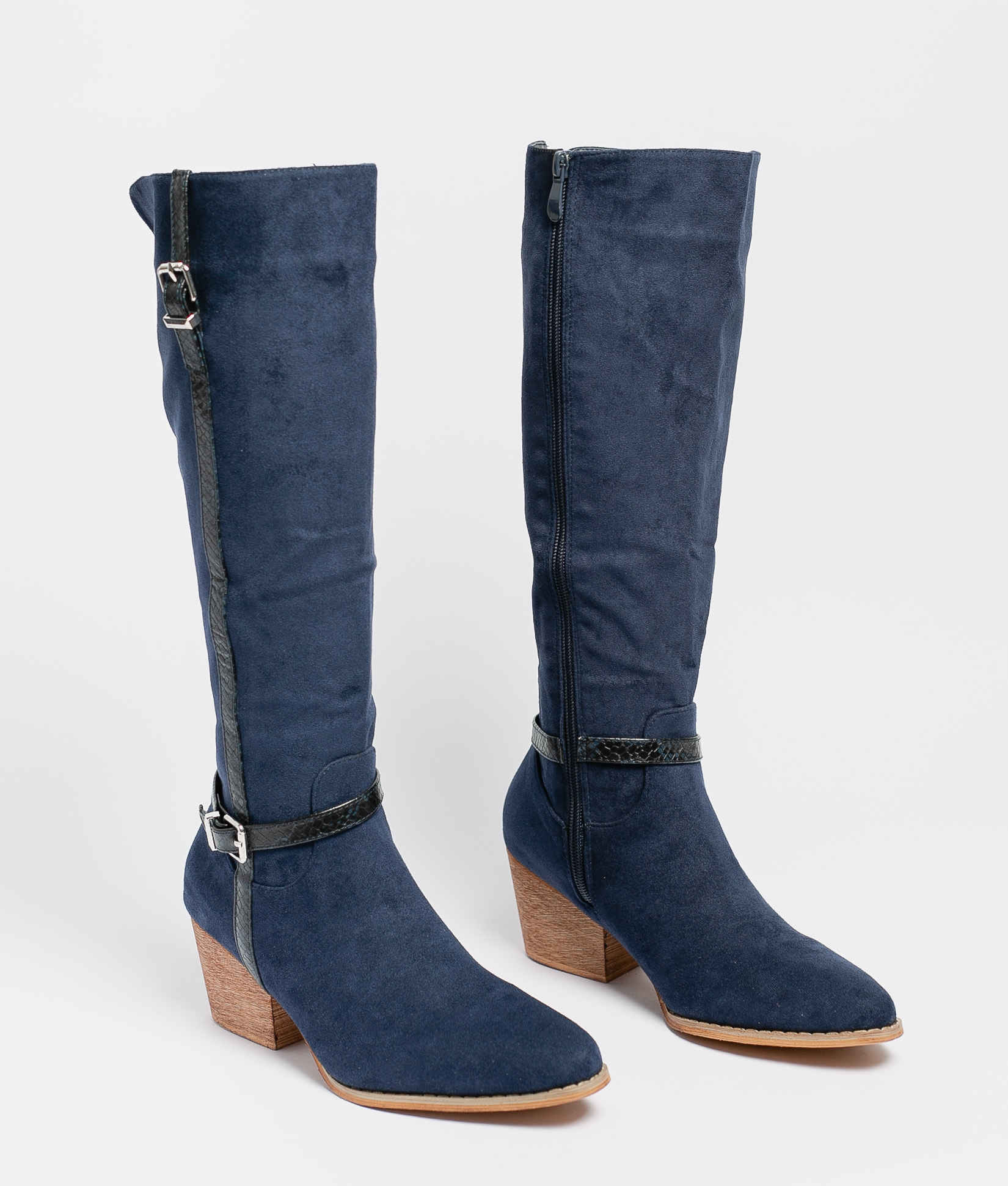 Knee-Length Boot Nolia - Blue