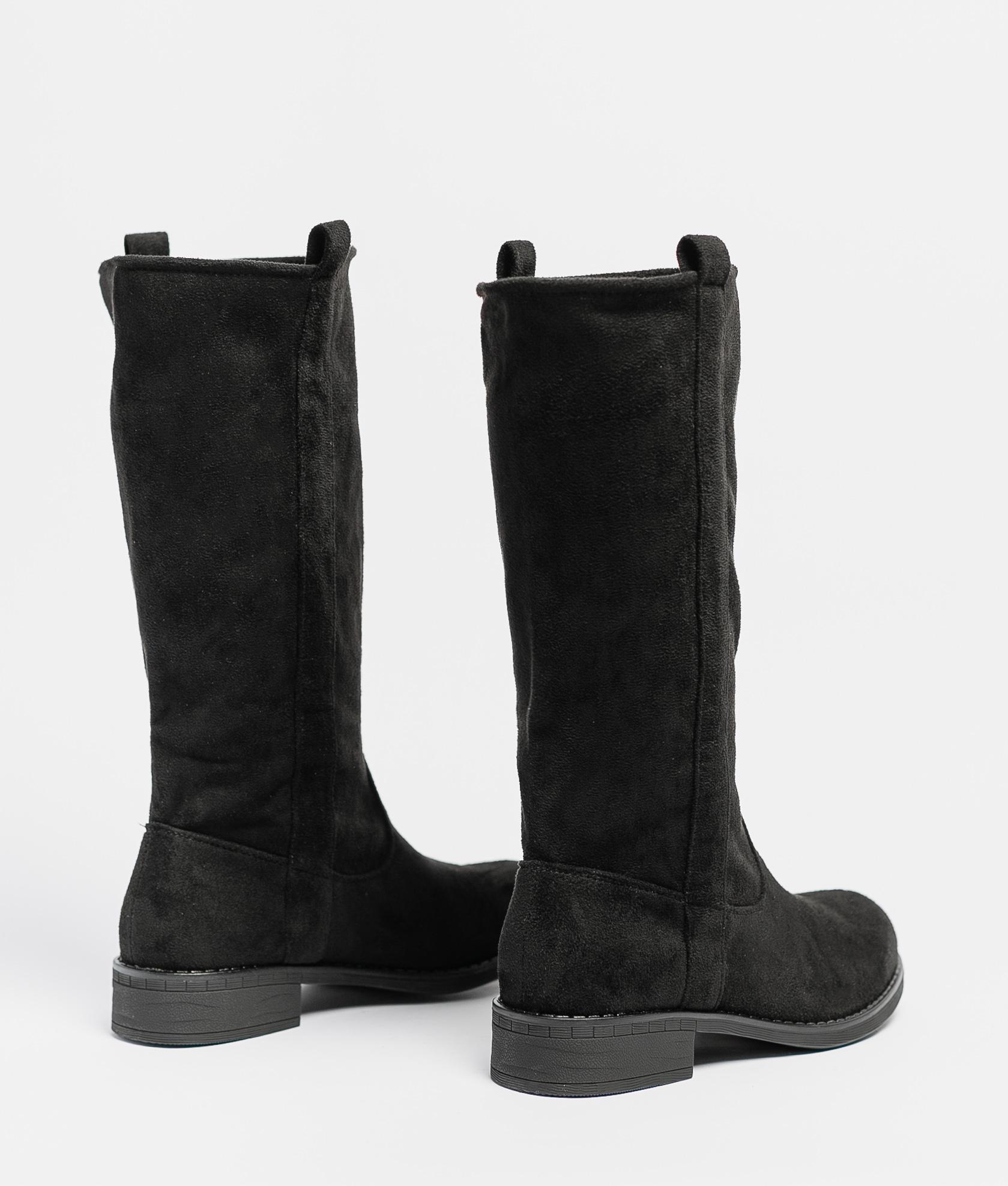 Knee-Lenght Boot Lupita - Black