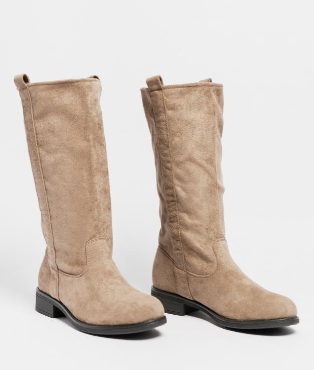 Knee-Lenght Boot Lupita - Khaki