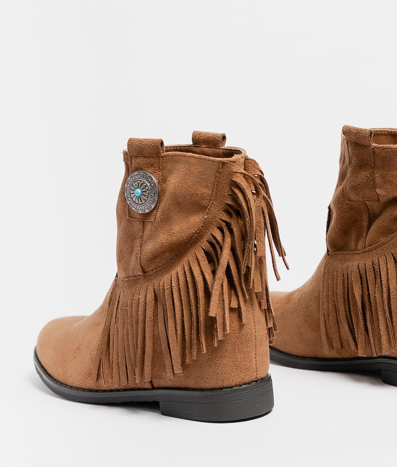 Bota Baja Sarina - Camel