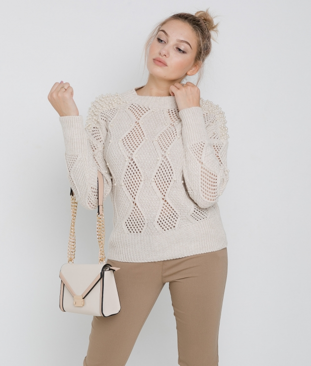 Pirlan Sweater - Beige
