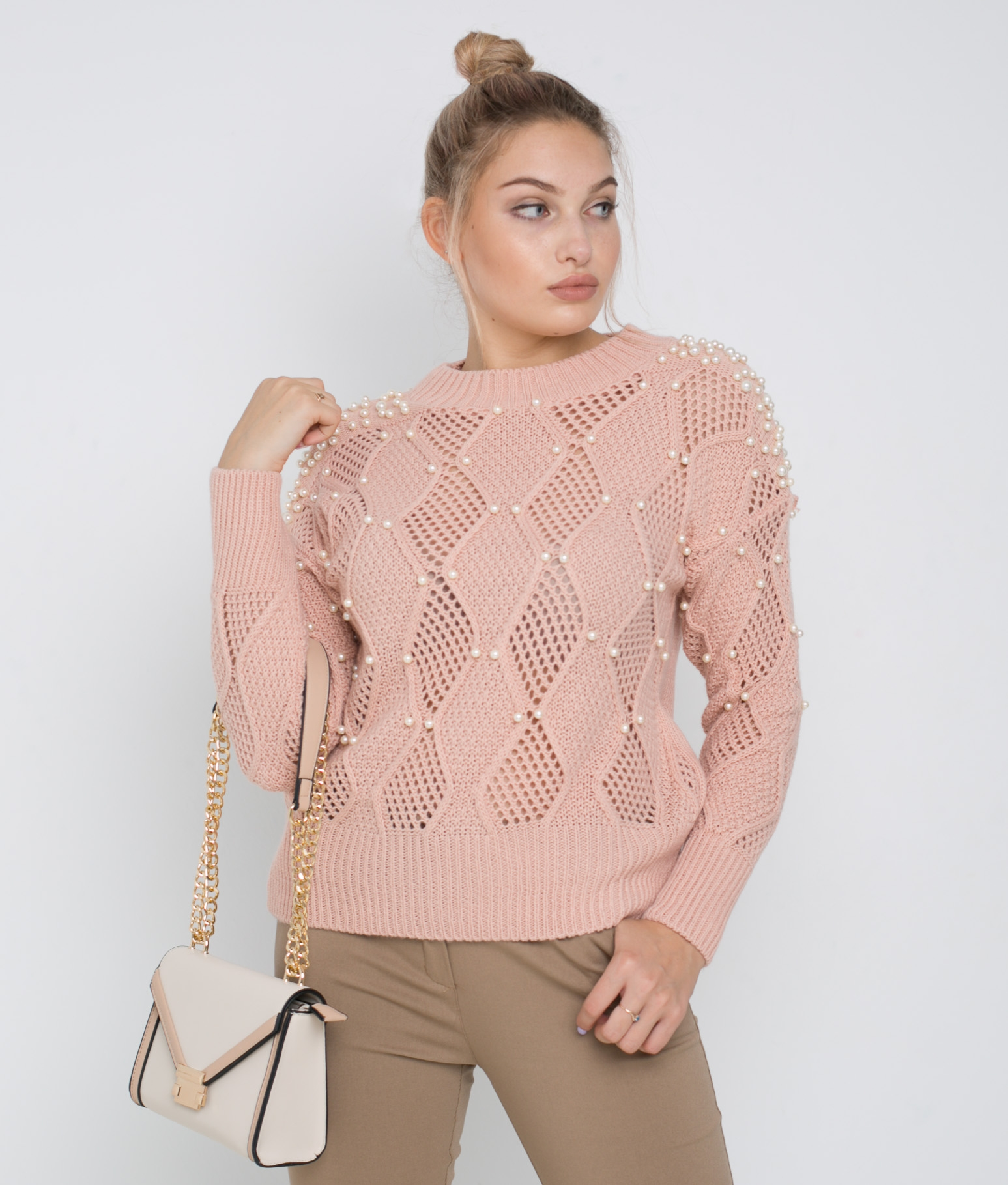 Pirlan Sweater - Pink