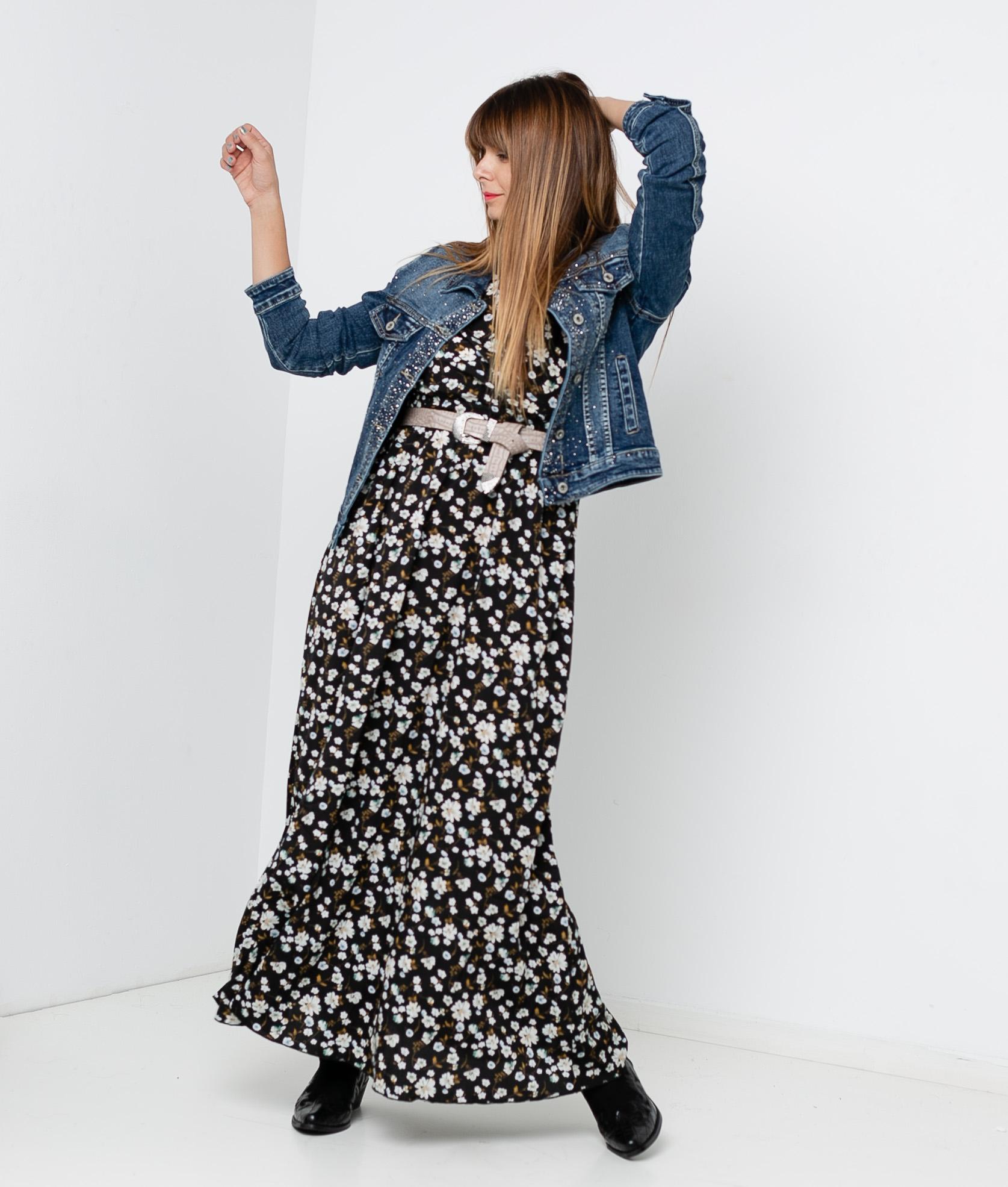 GULEA DRESS - BLACK