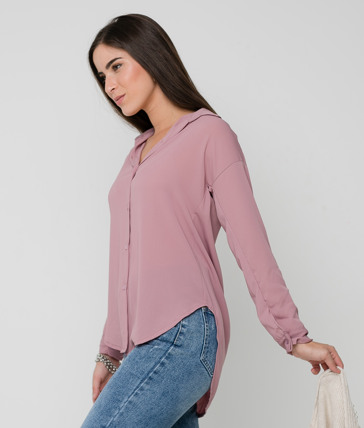 MERILA SHIRT - PURPLE