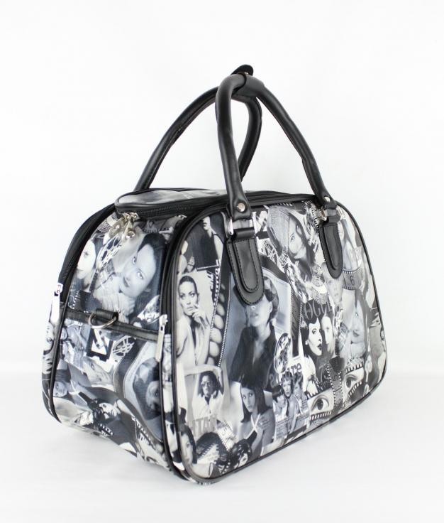 Travel Bag Paper - Black