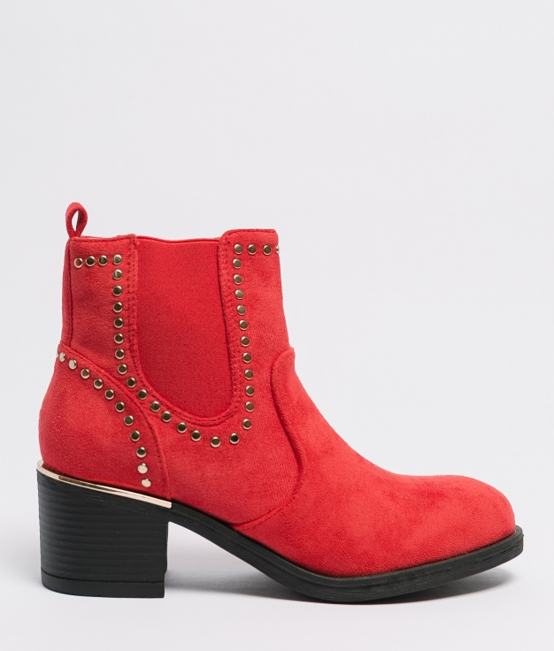 Low Boot Cabany - Red