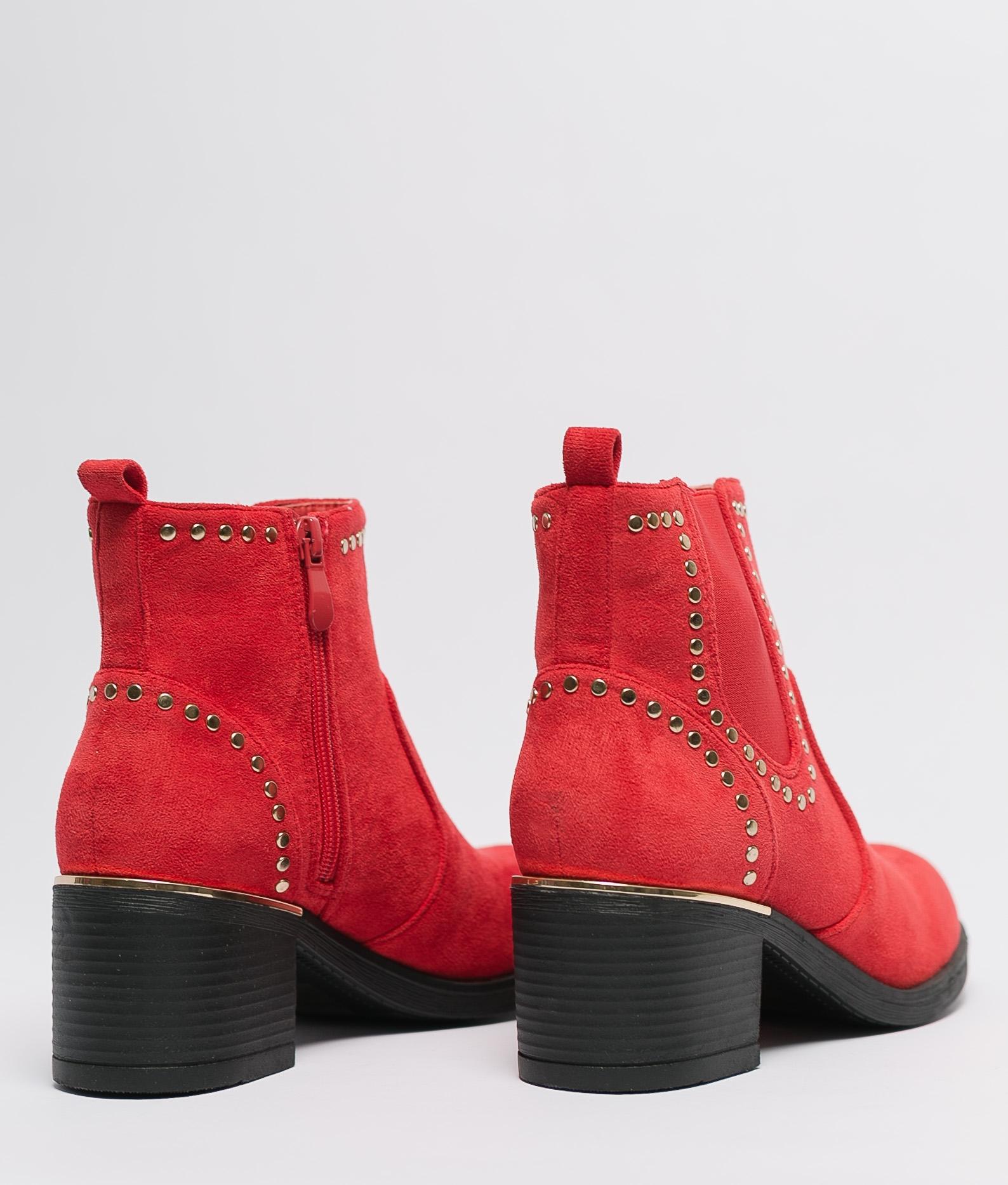 Bota Baja Cabany - Rojo