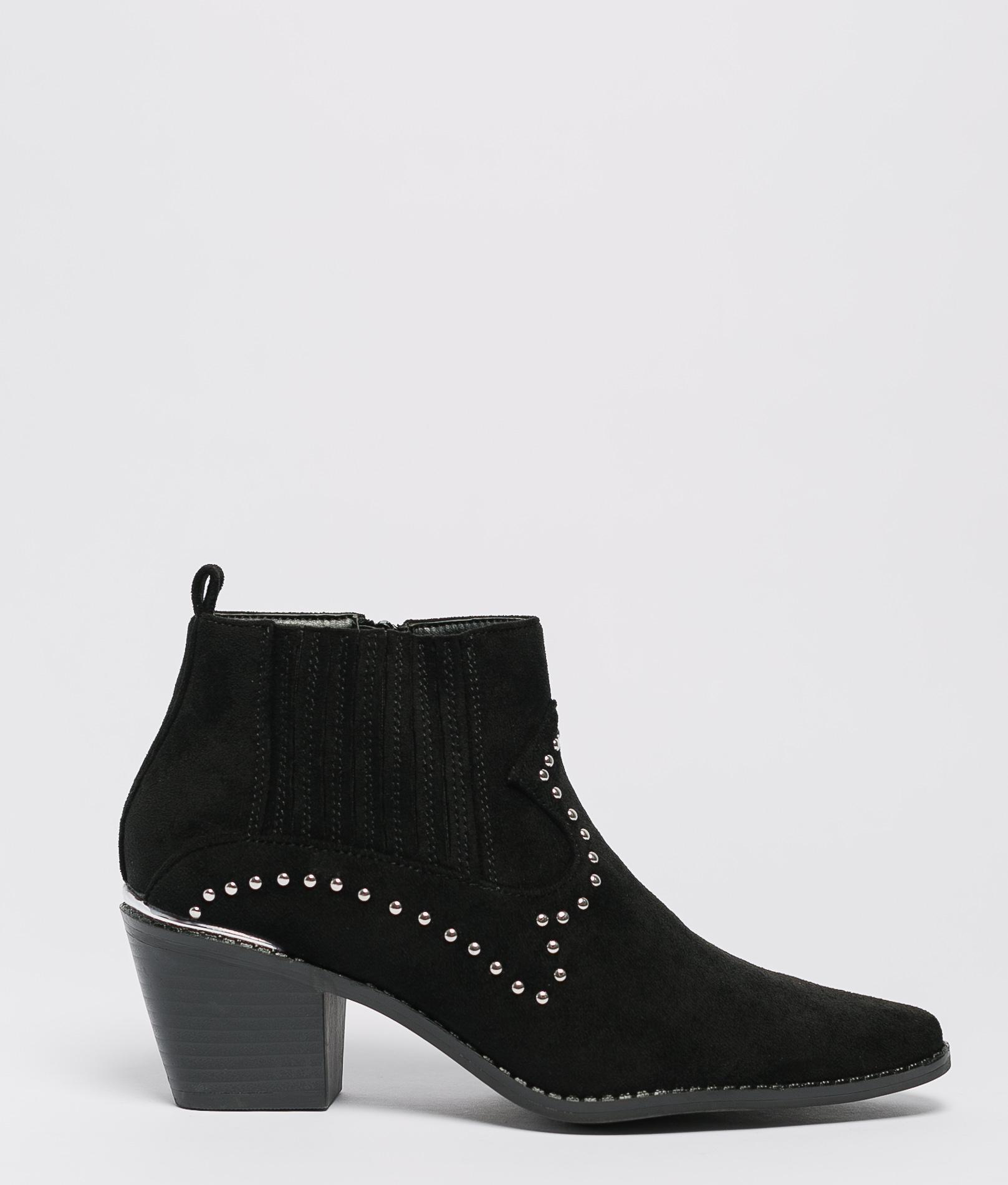 Low Boot Sanae - Black