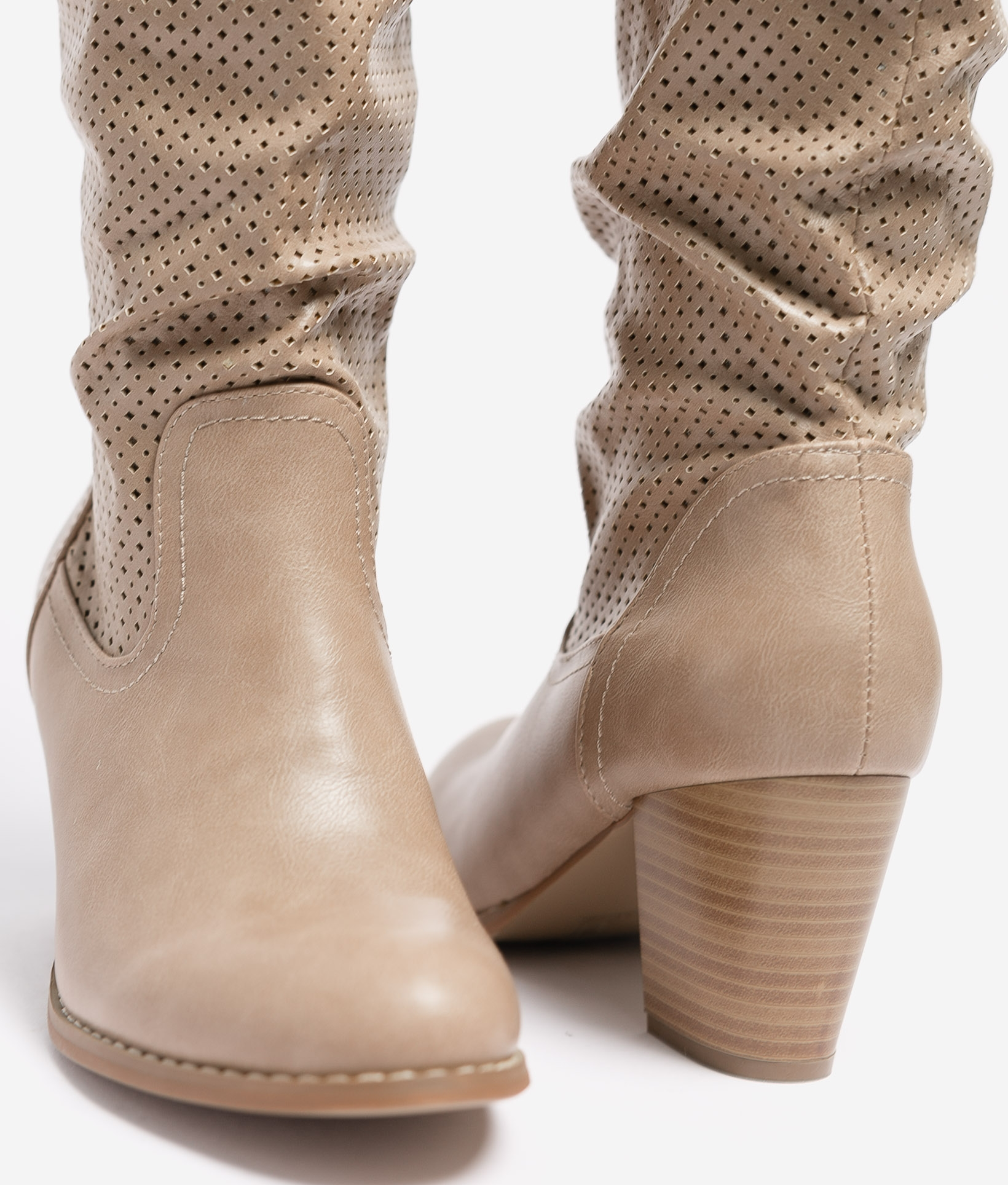 Knee-length Boot Nauru - Beige