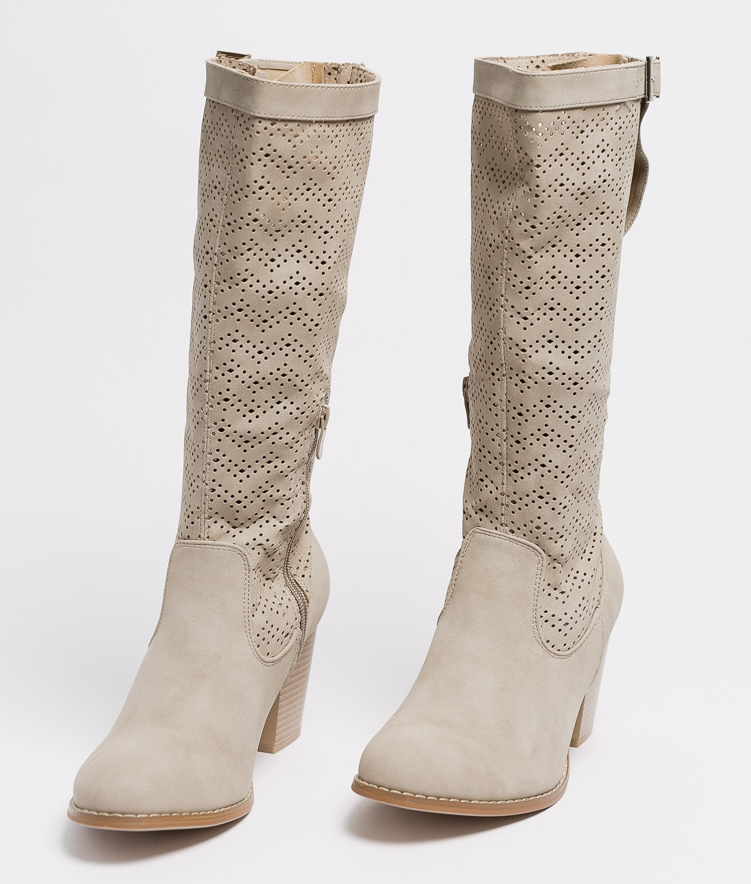 Knee-length Boot Elister - Beige