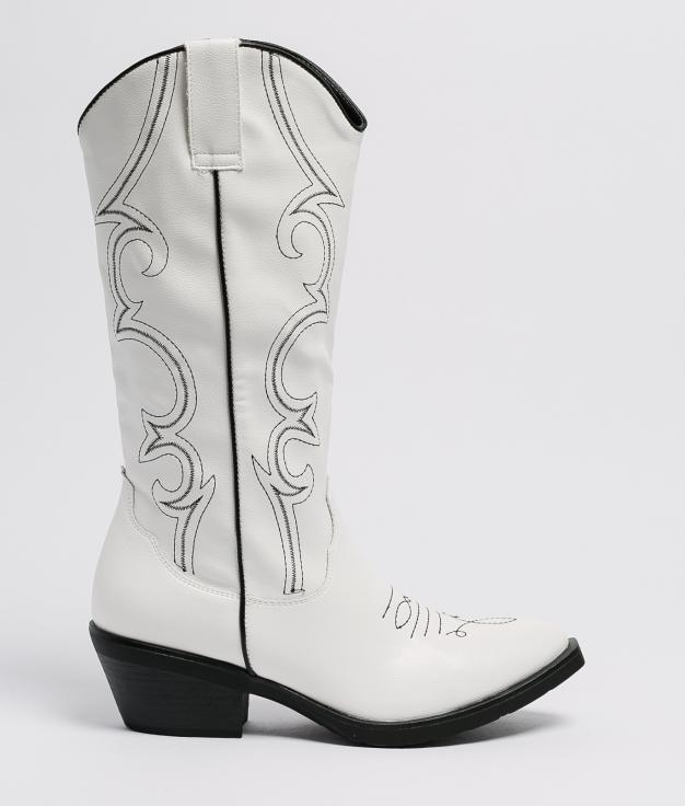 Knee-length Boot Lernio - White