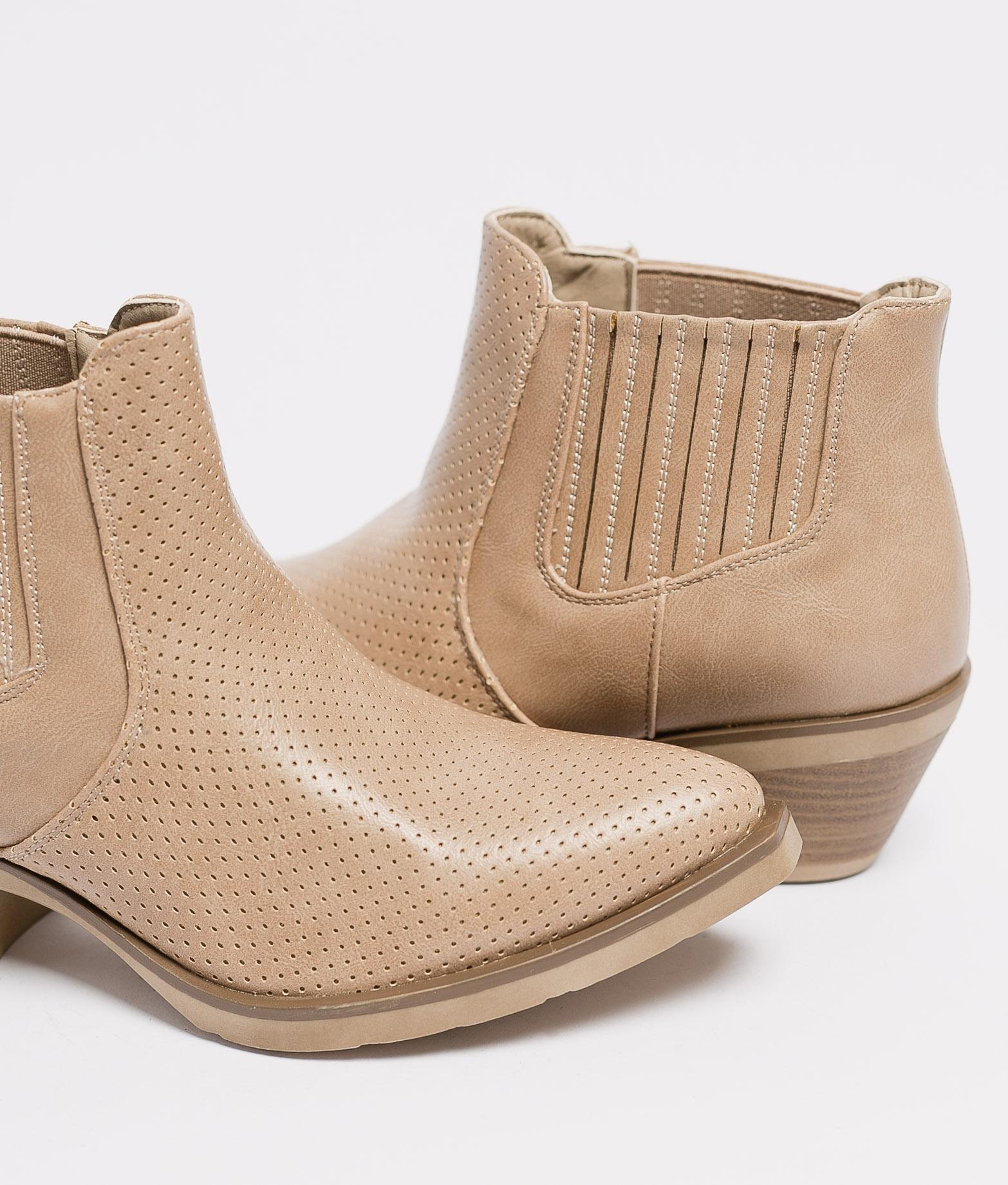 Low Boot Gilda - Khaki