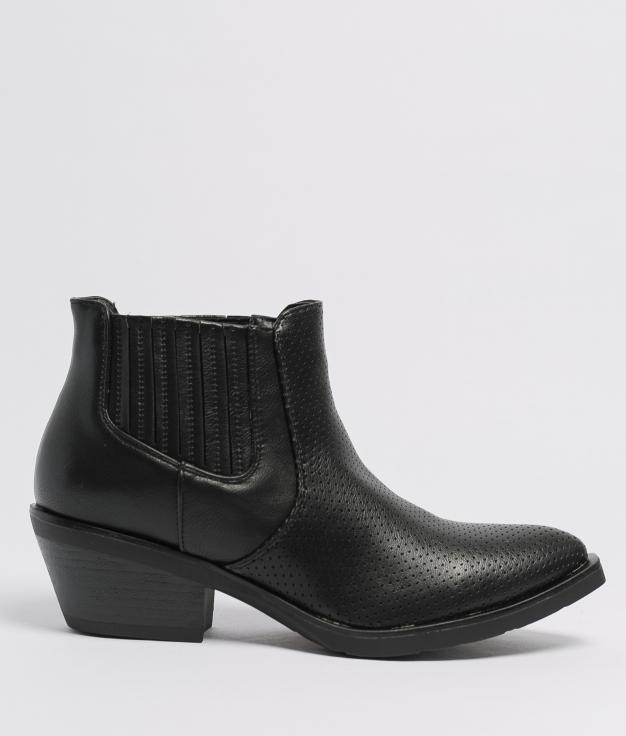 Low Boot Gilda - Black