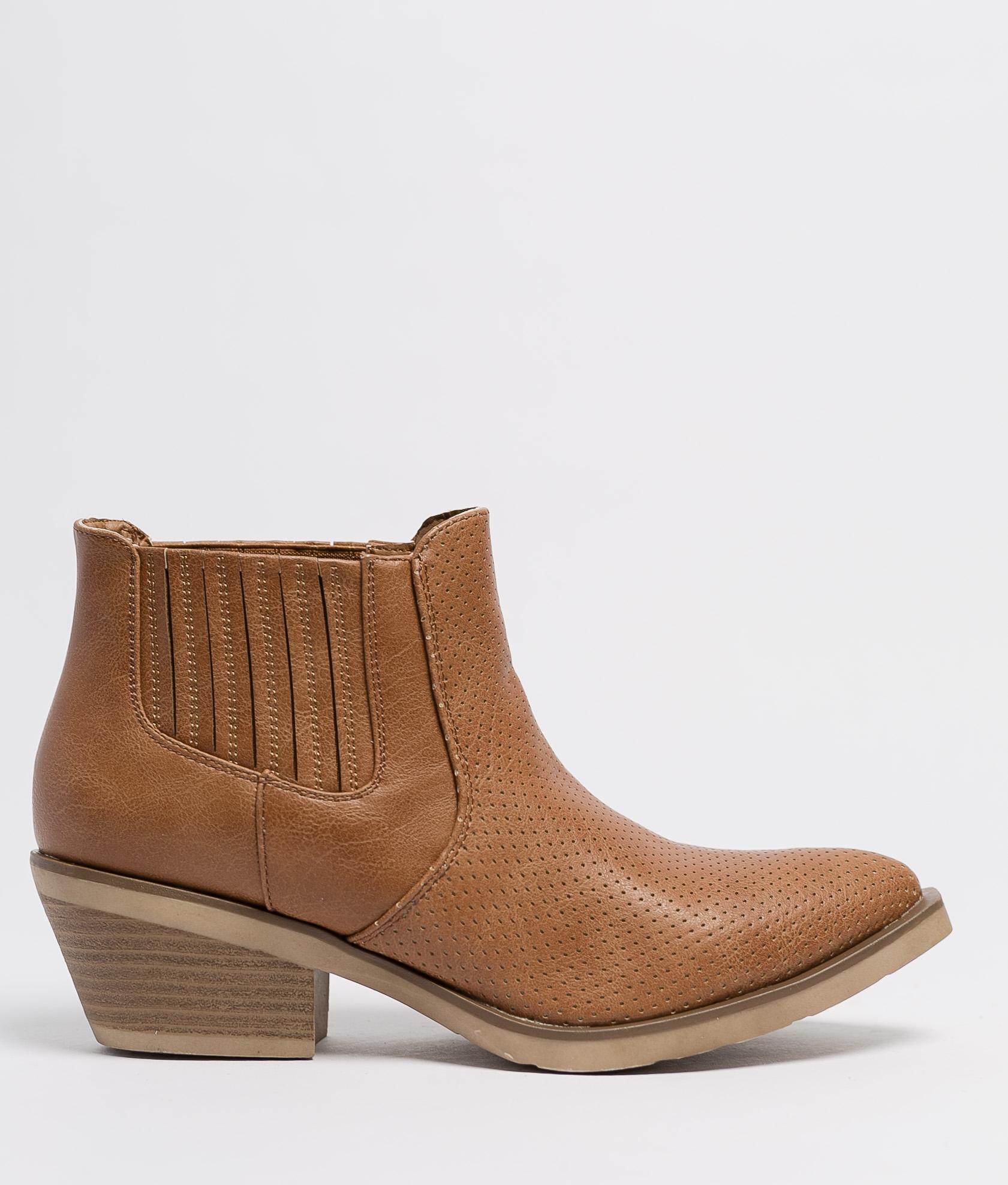 Low Boot Gilda - Camel