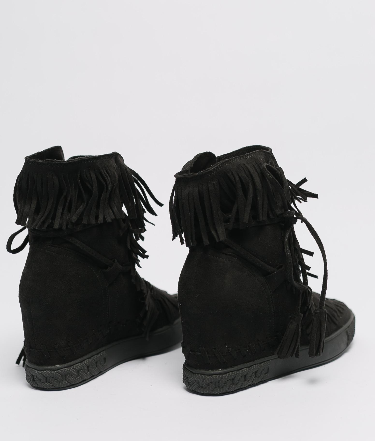 Bota Baja Livea - Negro