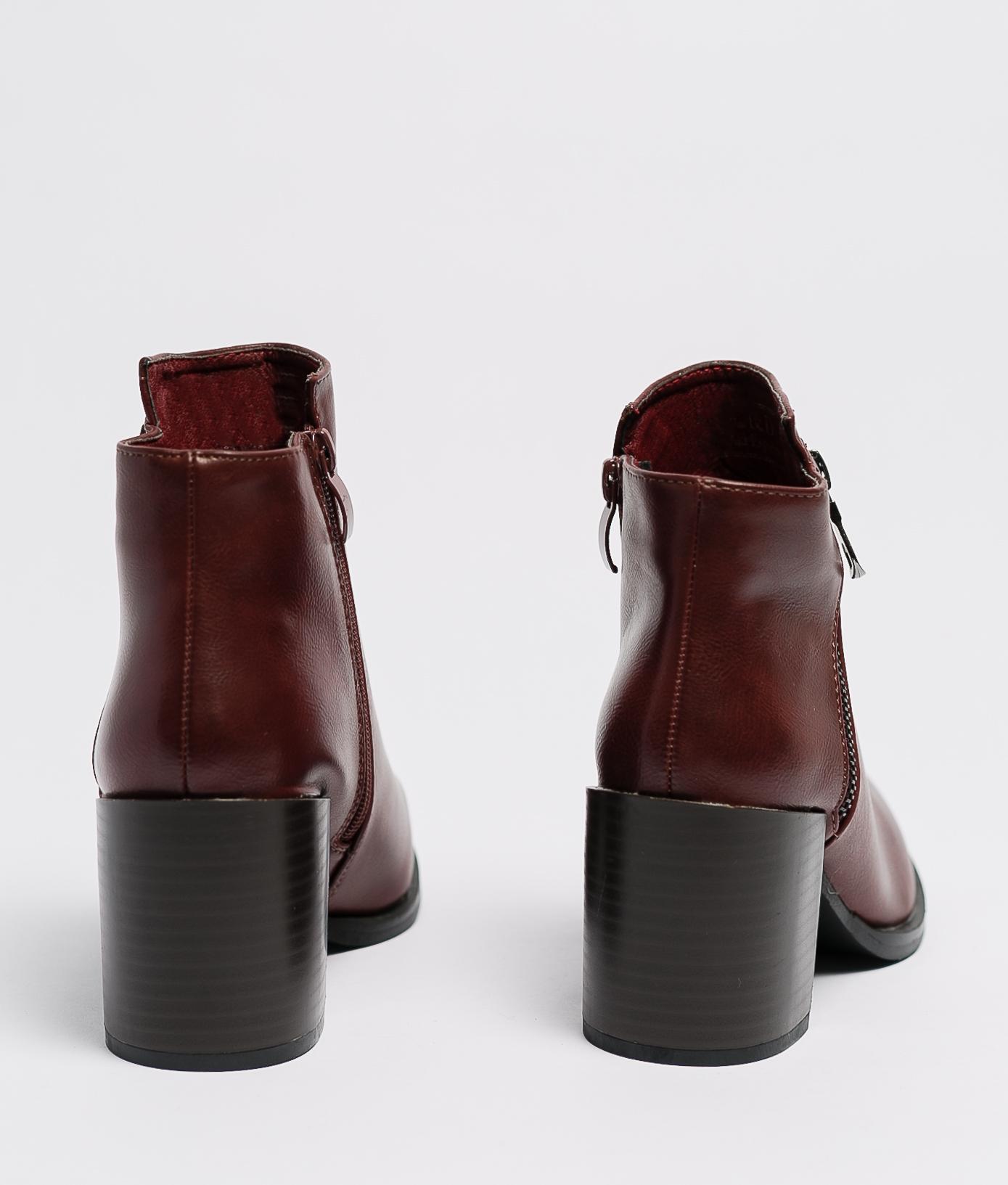 Boot Petite Trica - Grenat