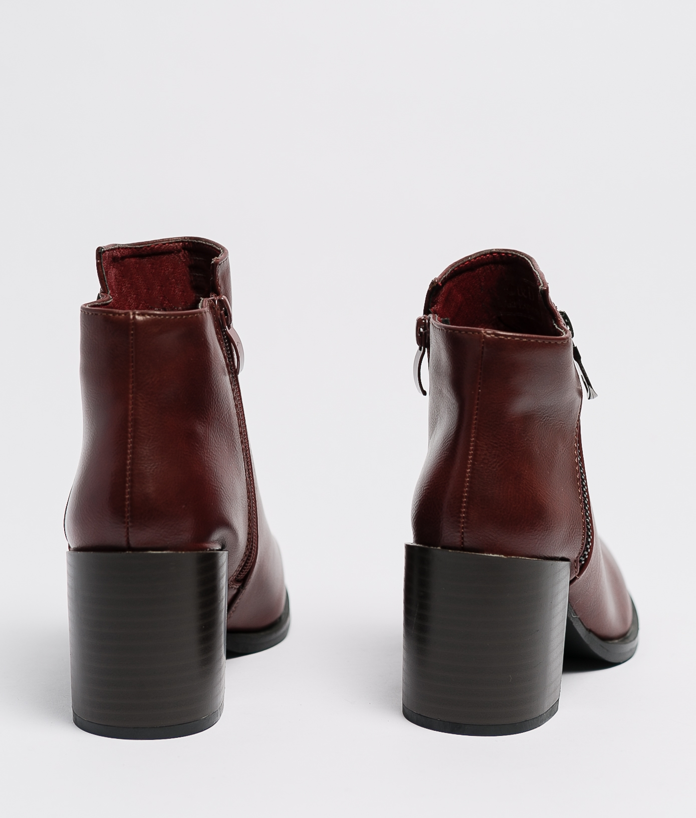 Low Boot Trica - Maroon