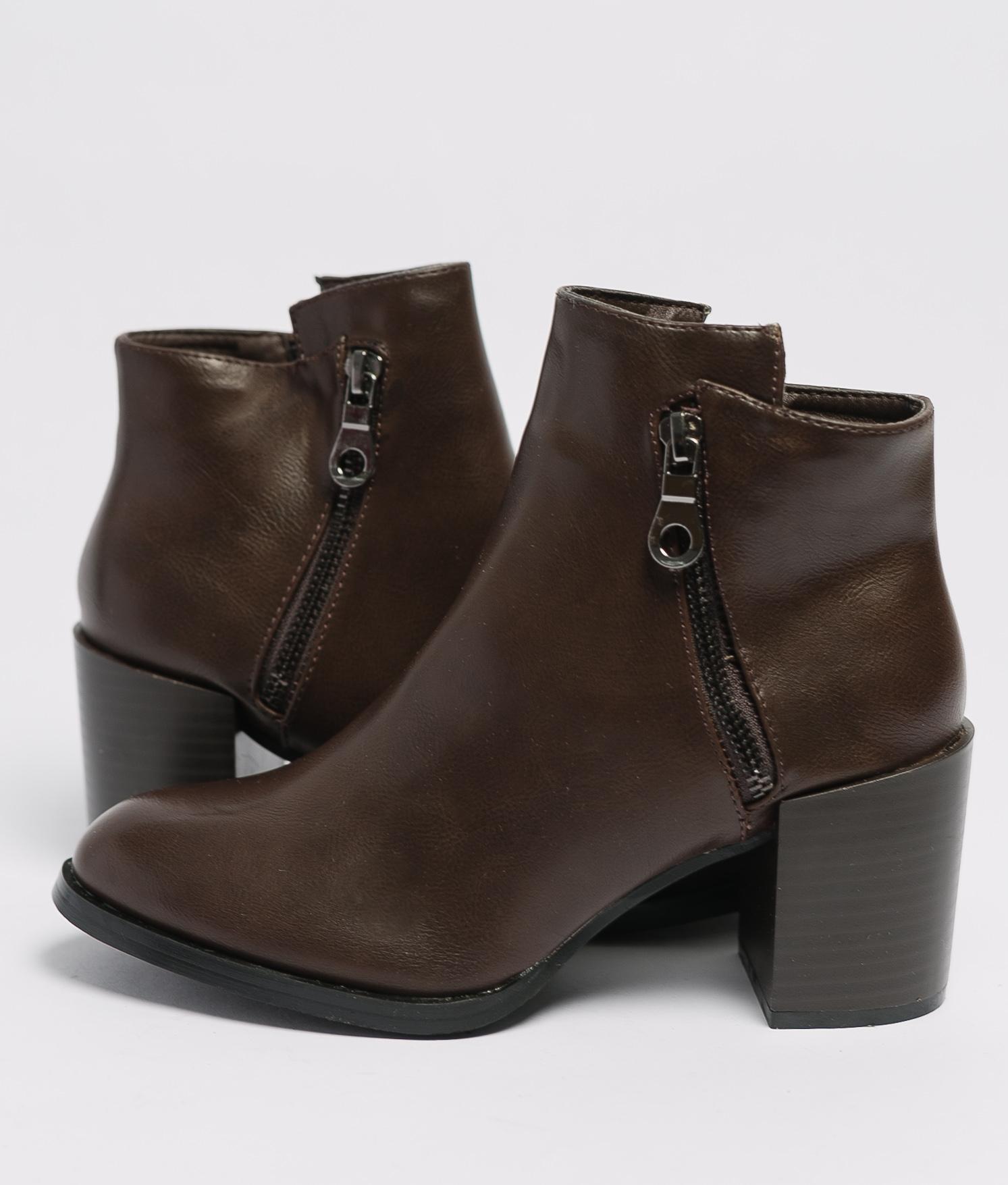 Boot Petite Trica - Marron