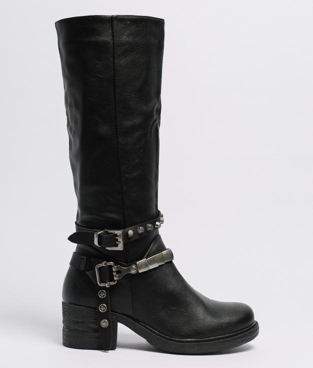 Knee-length Boot Sostre - Black