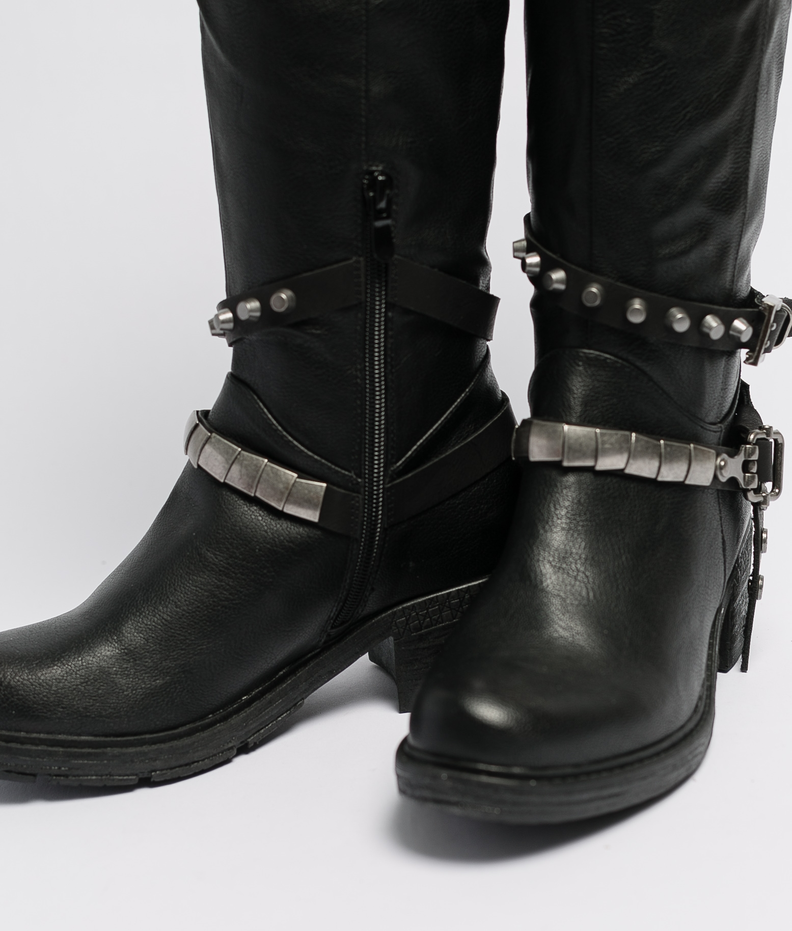 Knee-length Boot Sostre - Black