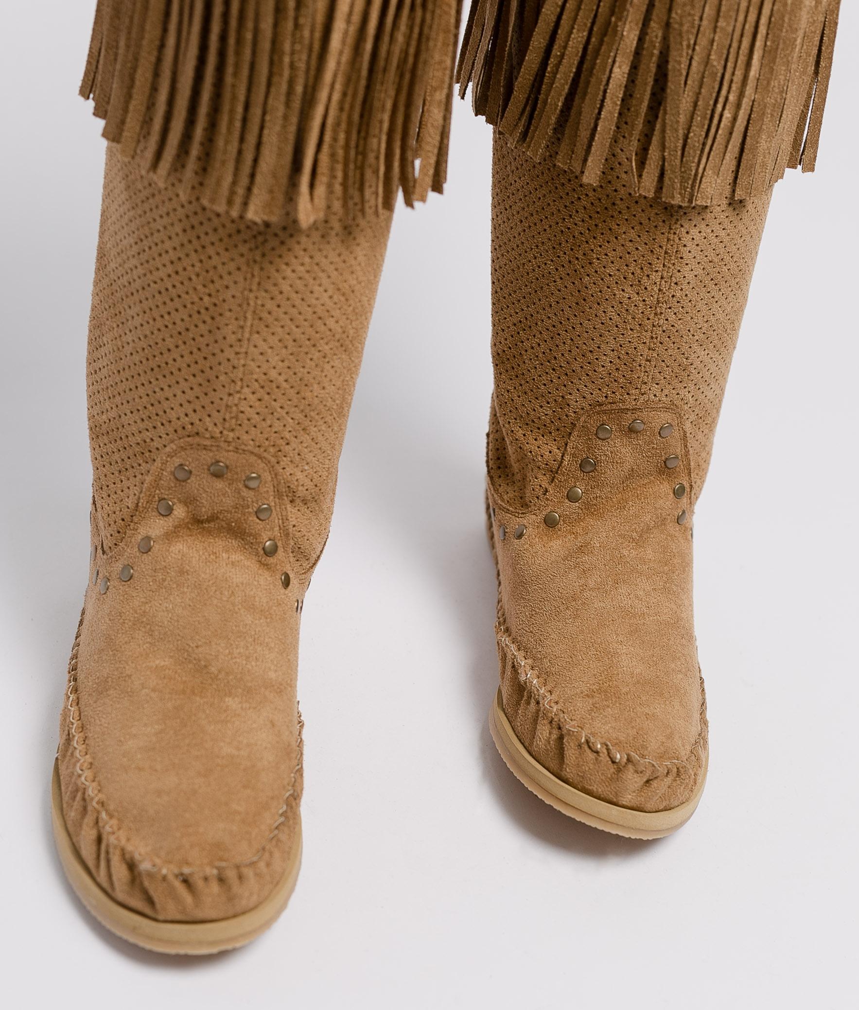Stivali Indianini Sarale - Cammello