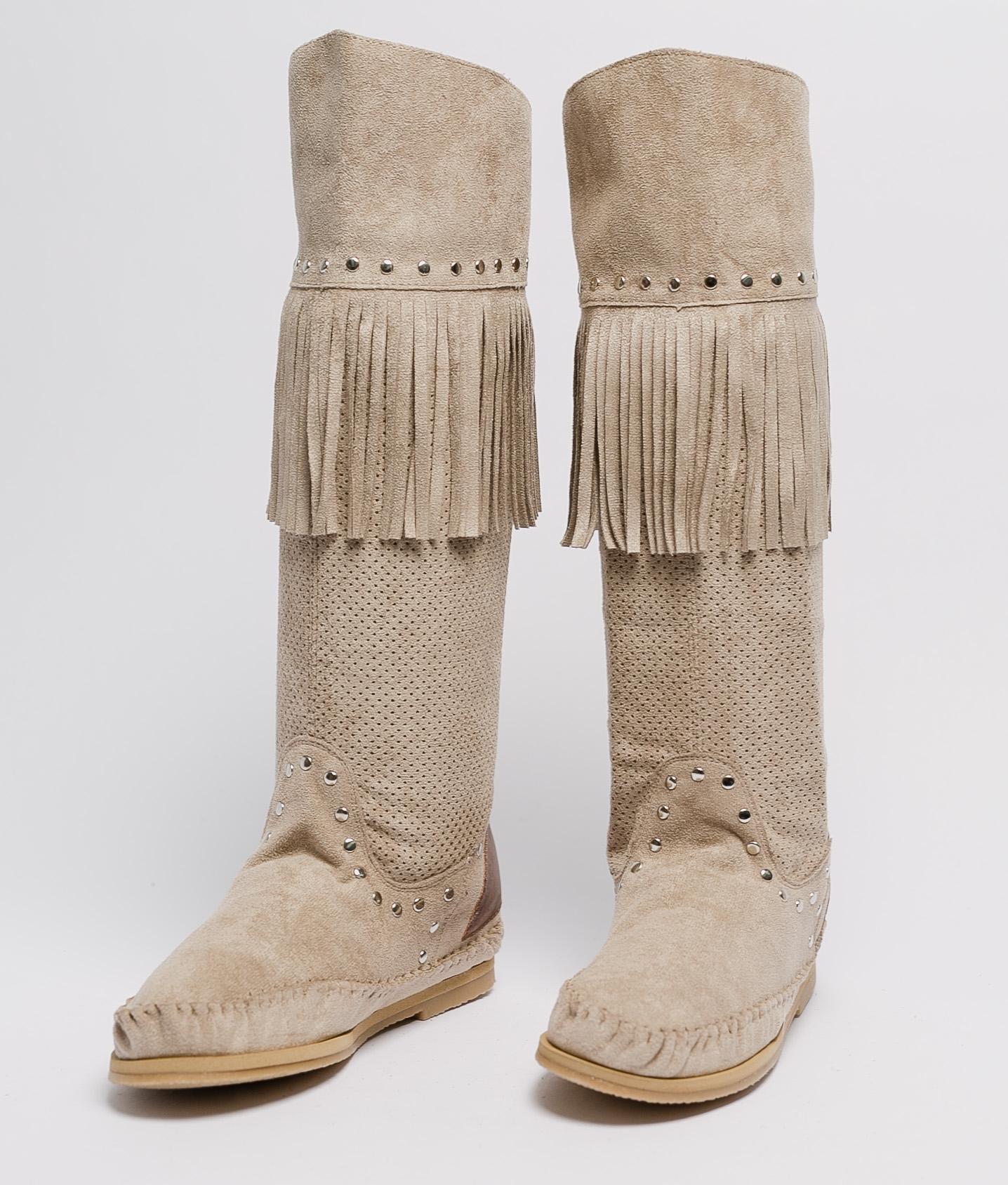 Stivali Indianini Sarale - Beige