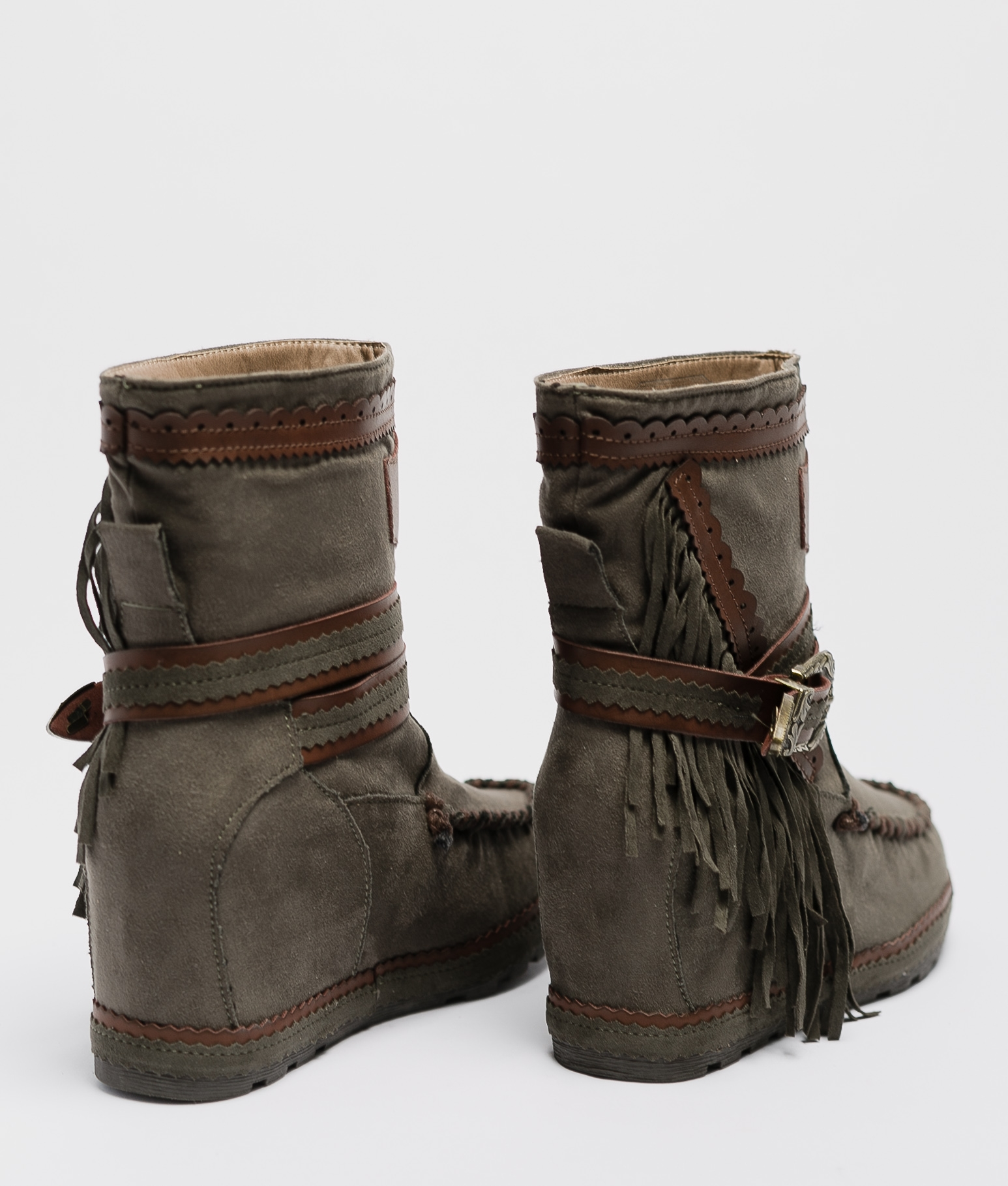 Armie Indianini Low Boot - Green