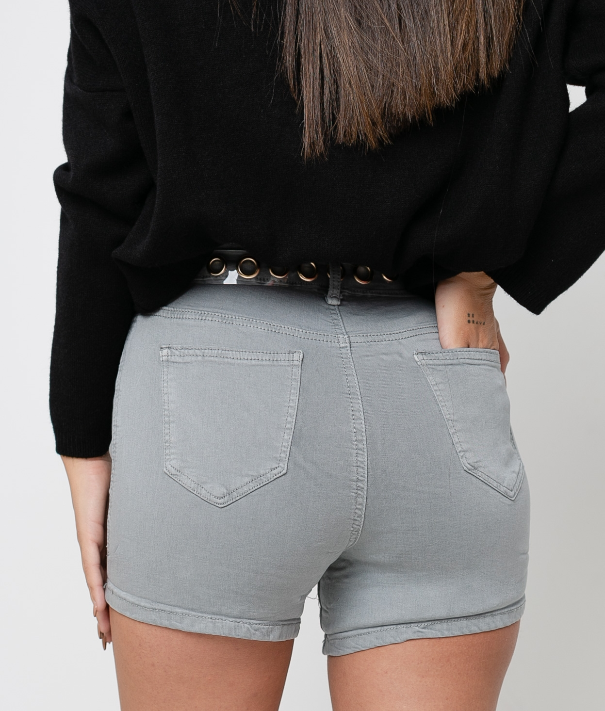 Short Tello - Grey
