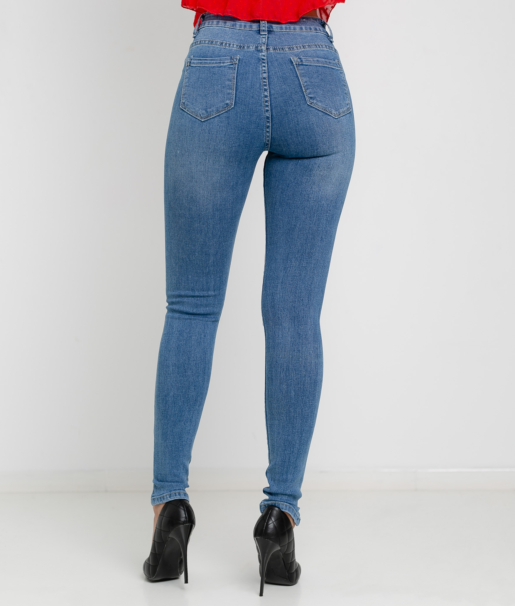 TROUSERS FALCONE - DENIM