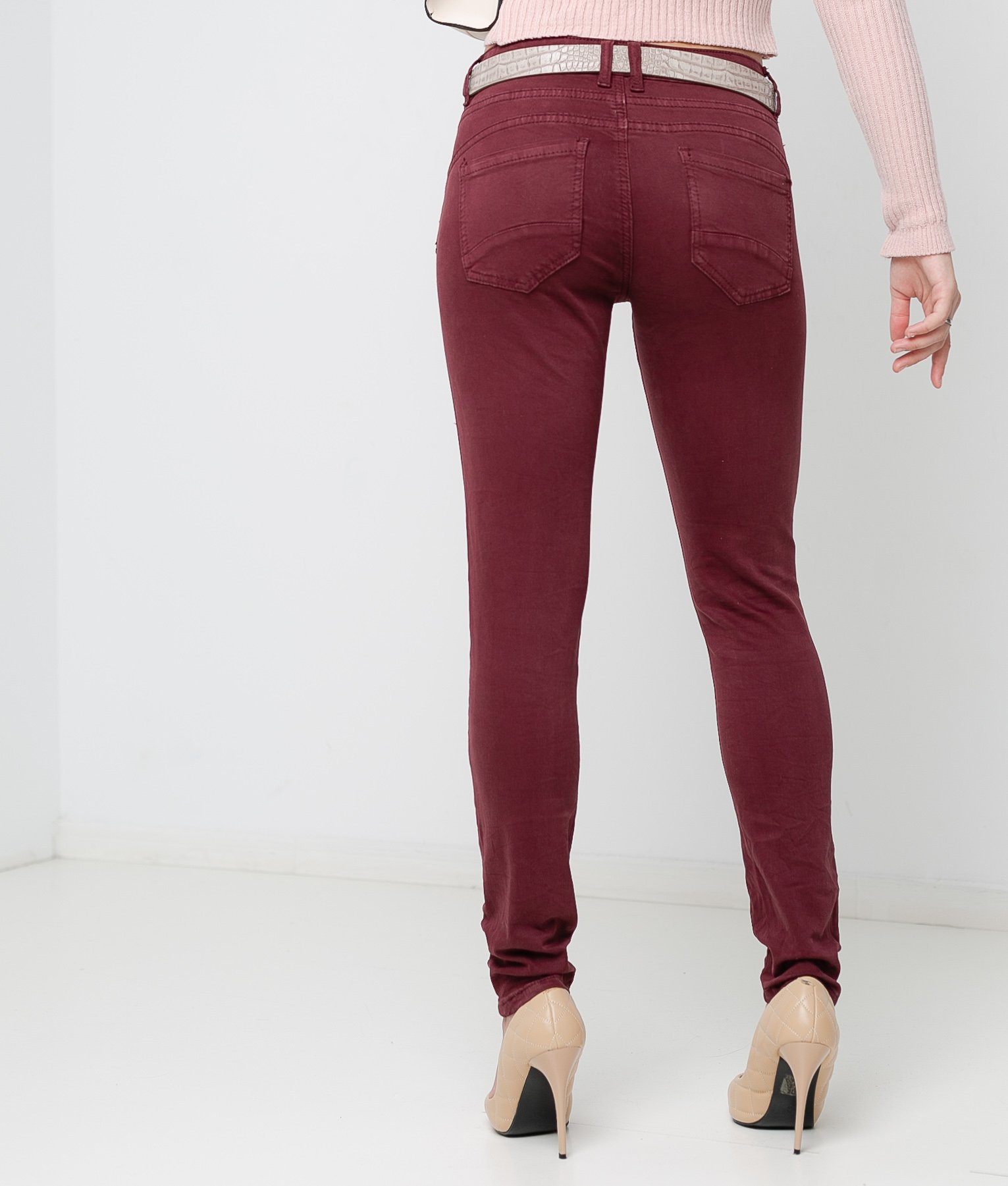 Trousers Mainer - Maroon