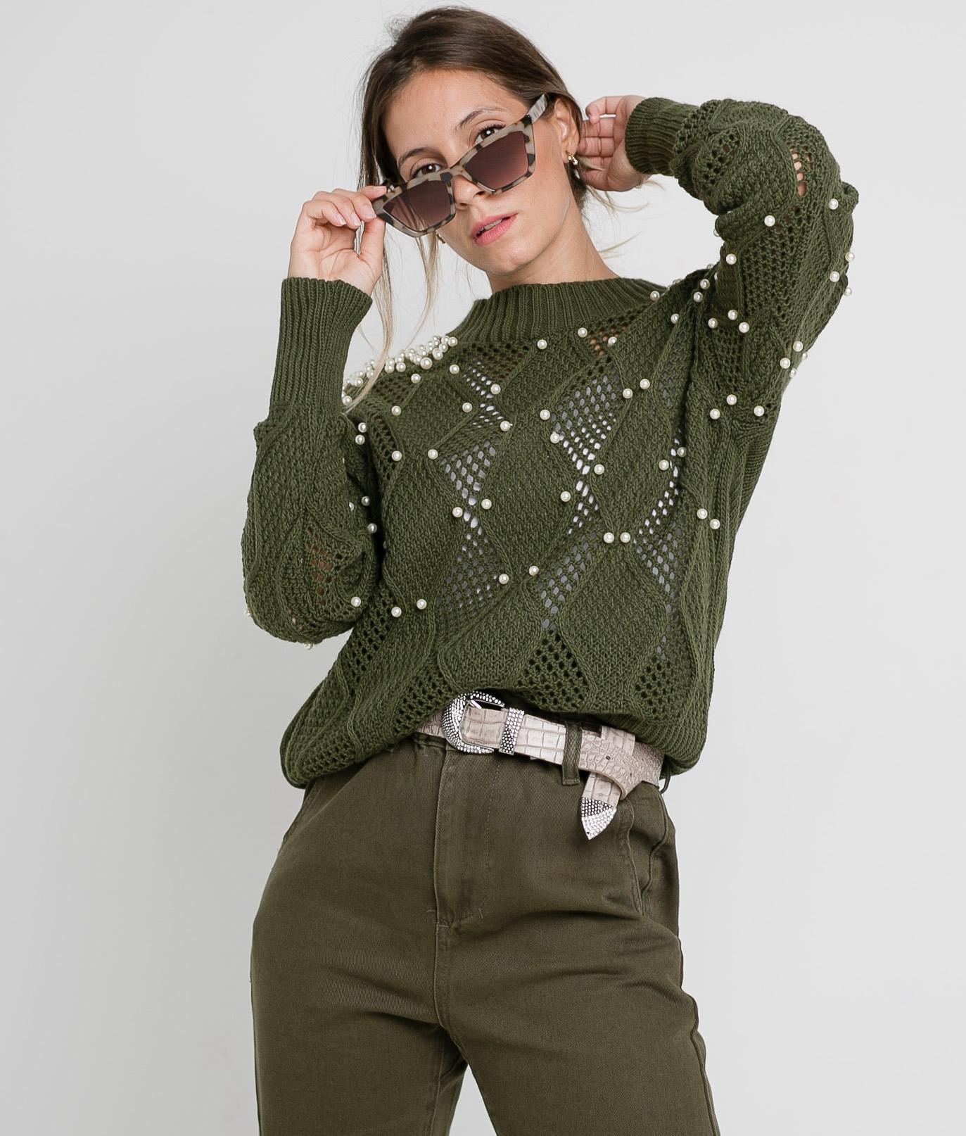 Pirlan Sweater - Khaki