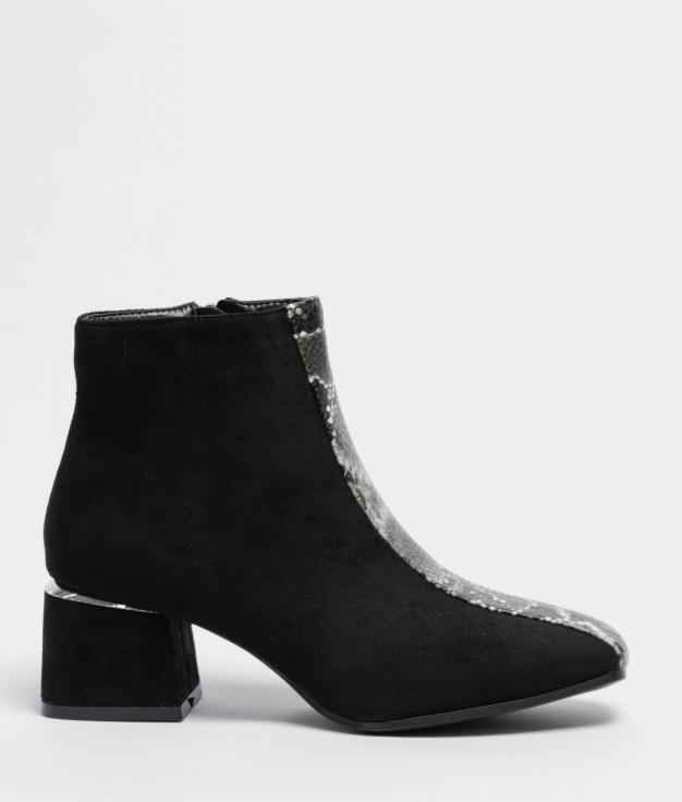 Low Boot Redia - Black