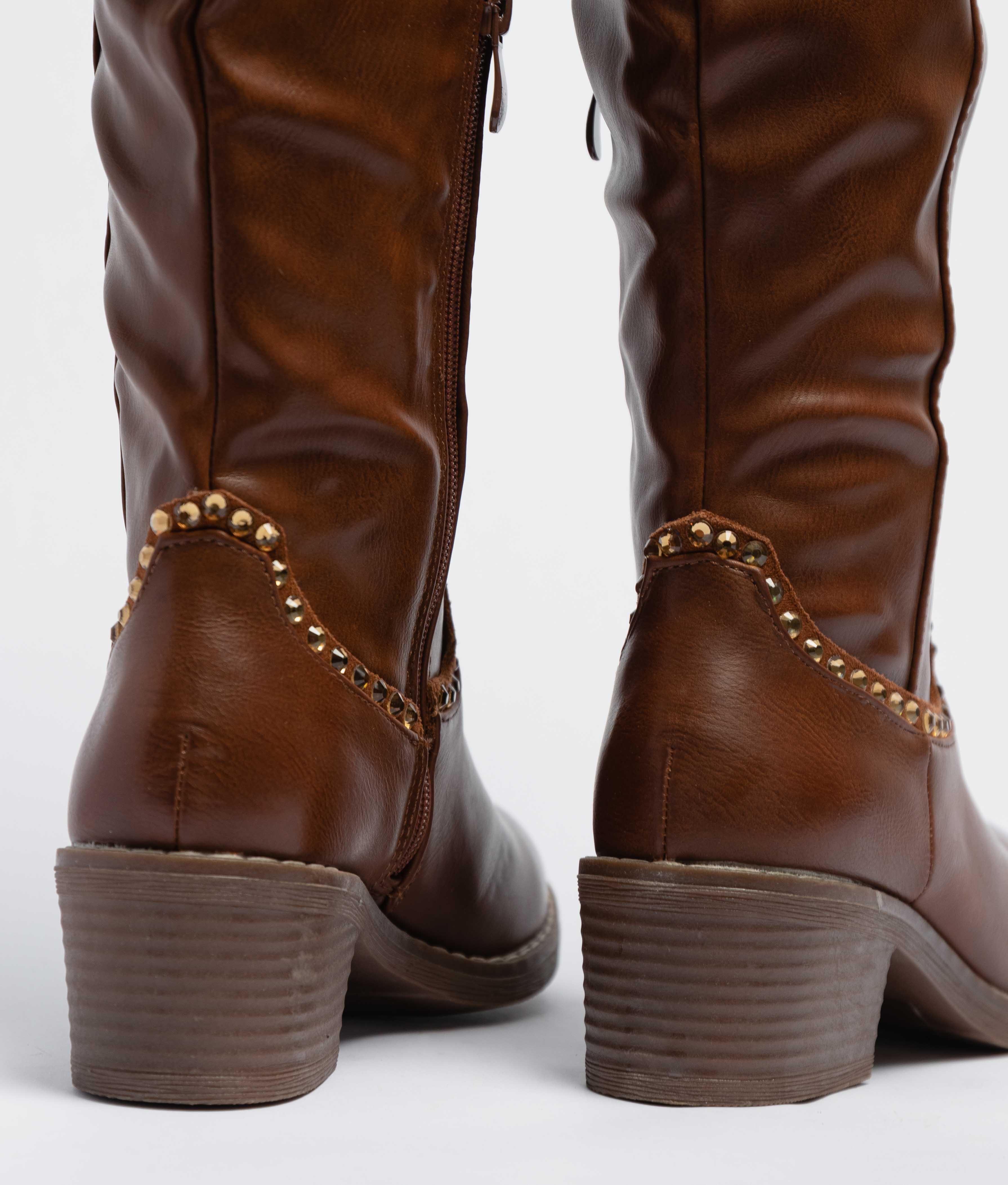 Knee-Lenght Boot Cirio - Camel