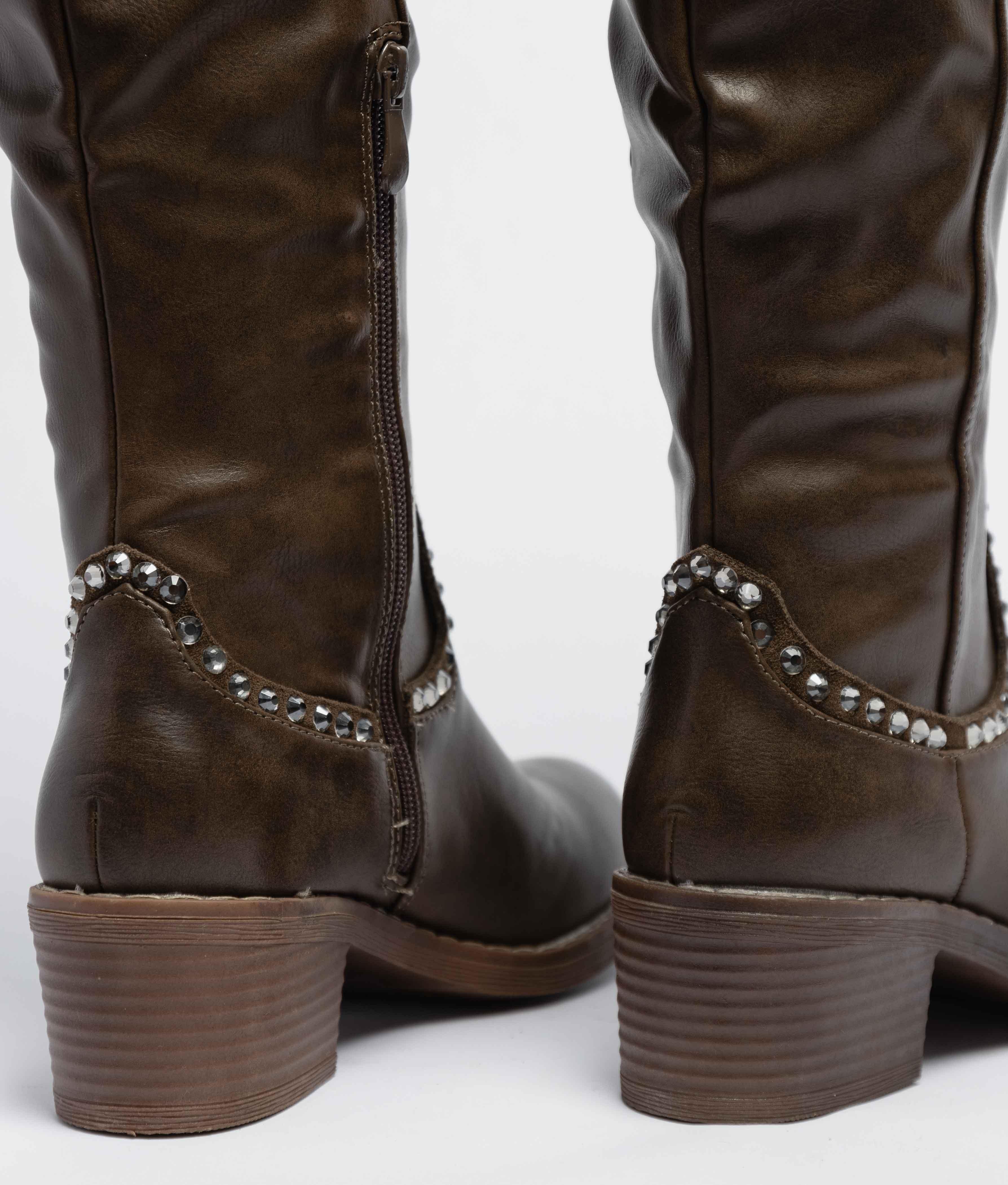 Knee-Lenght Boot Cirio - Green
