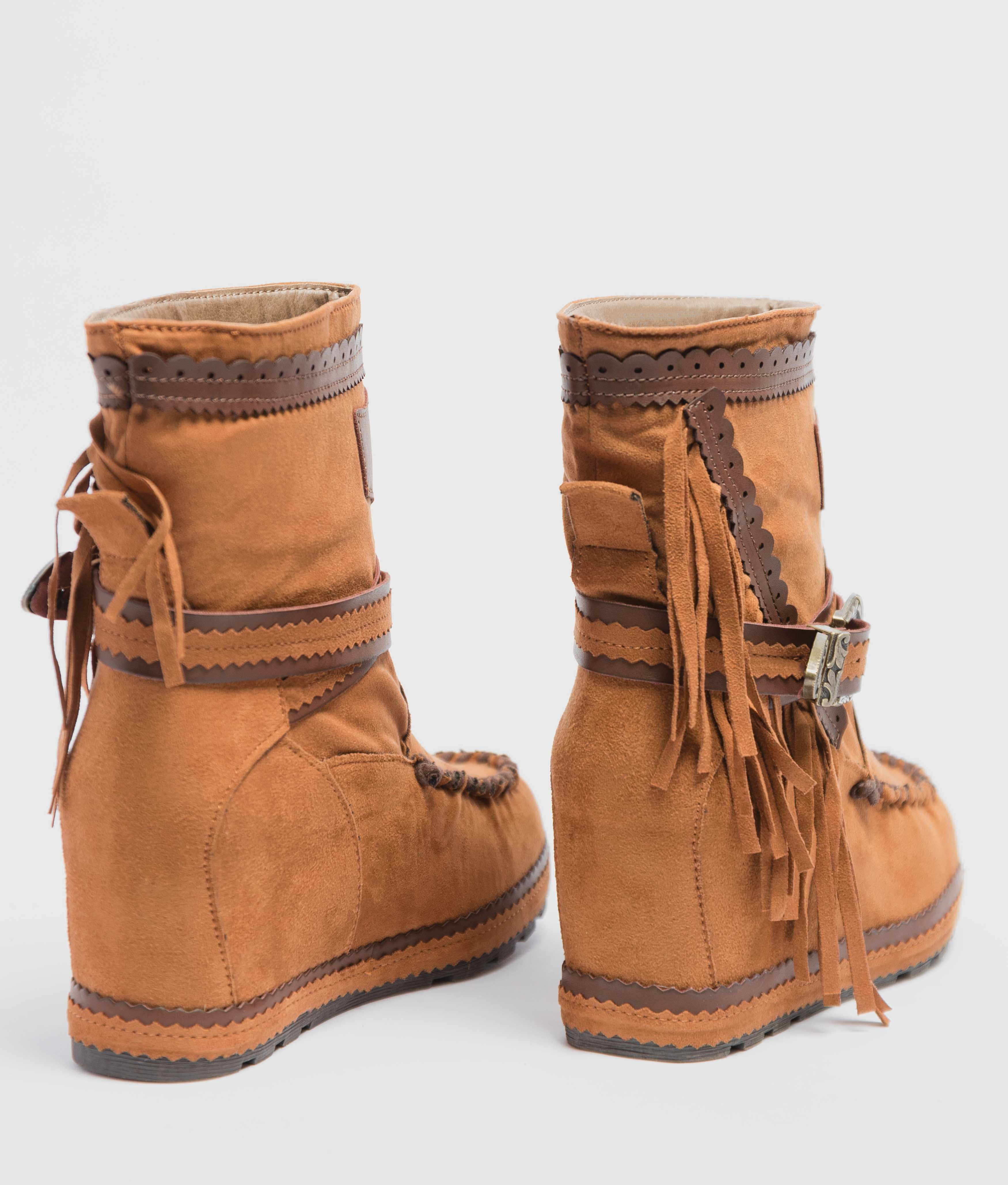 Armie Indianini Low Boot - Camel